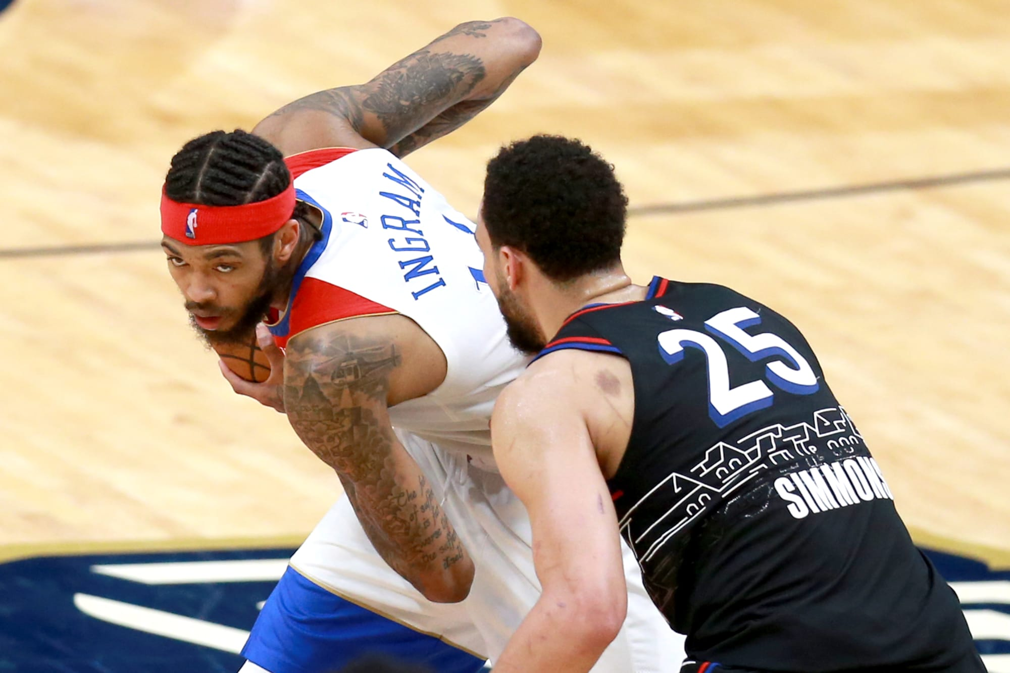 Pelicans: This Brandon Ingram trade for Ben Simmons is nuts