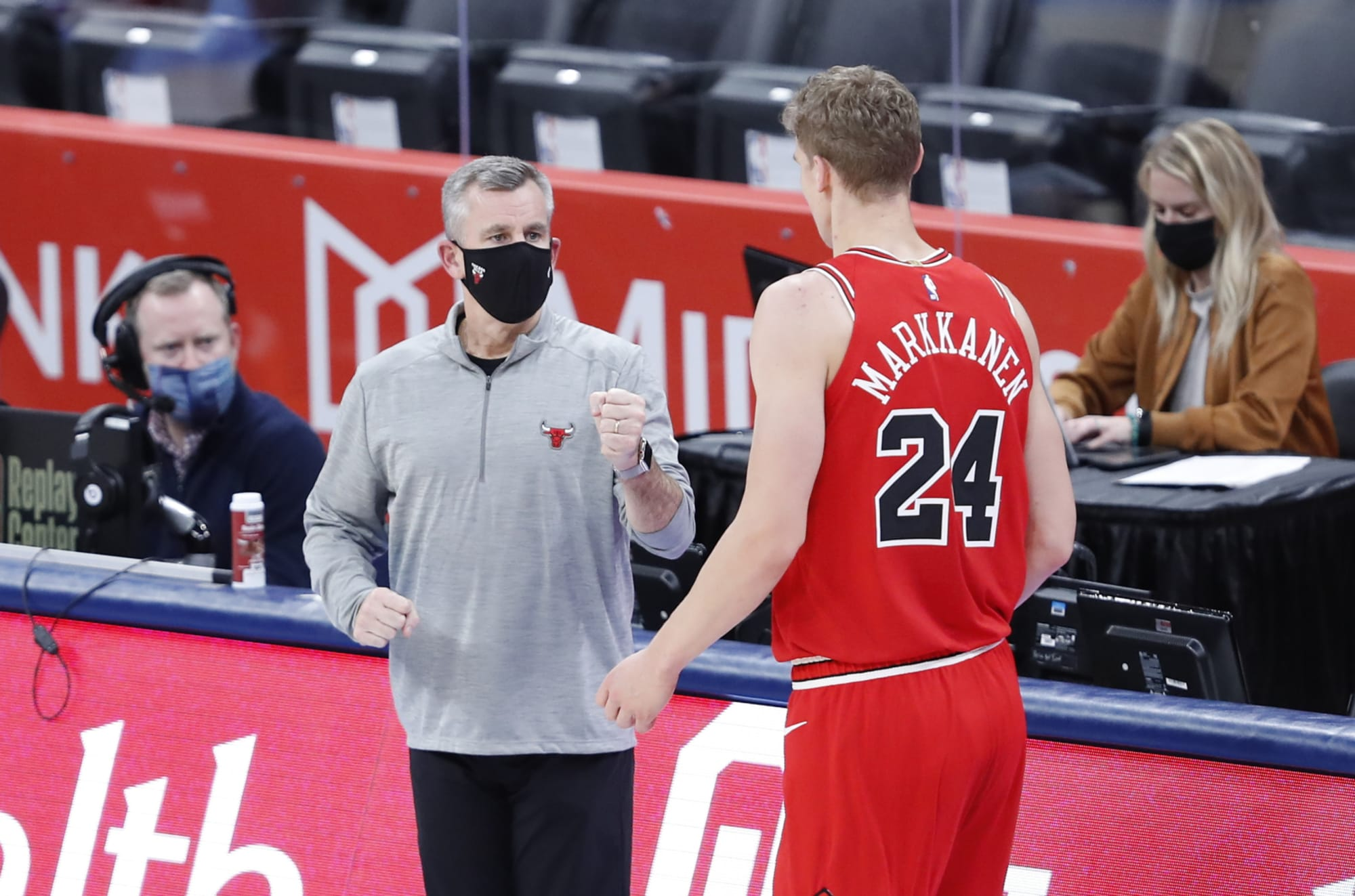 Chicago Bulls: Billy Donovan praises Markkanen when asked about his future with team
