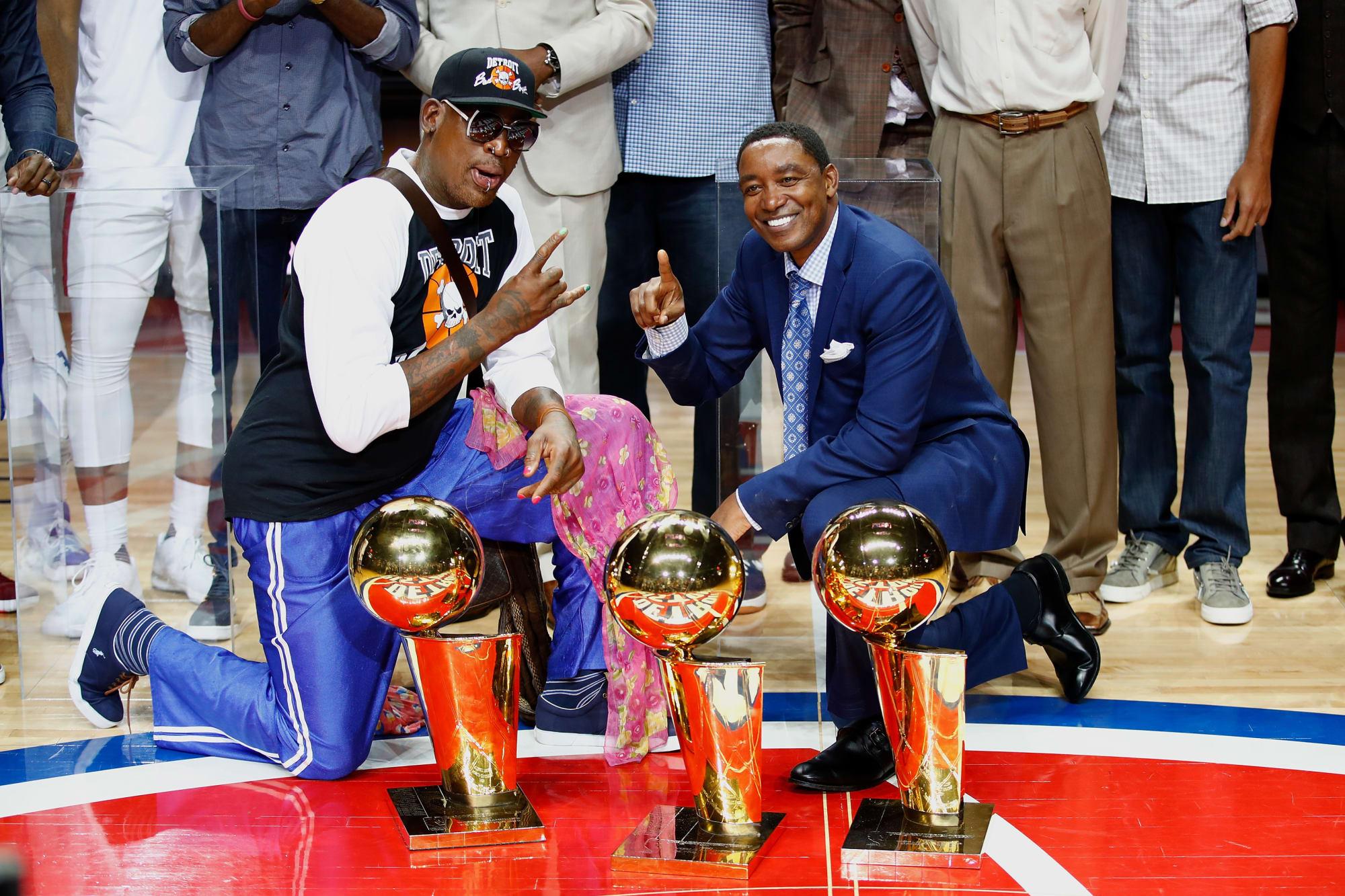 4 Detroit Pistons make the NBA's 75 greatest players list
