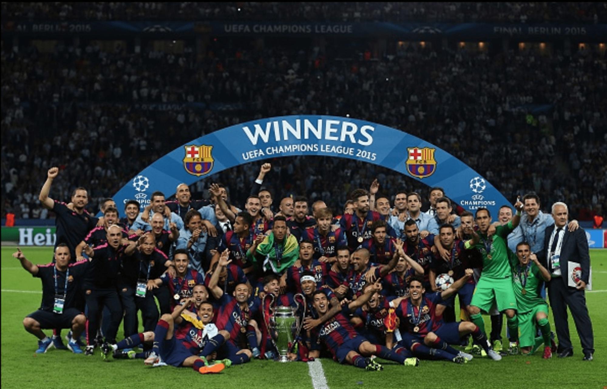 Fc Barcelona 2015 Champions League Final Match Ratings