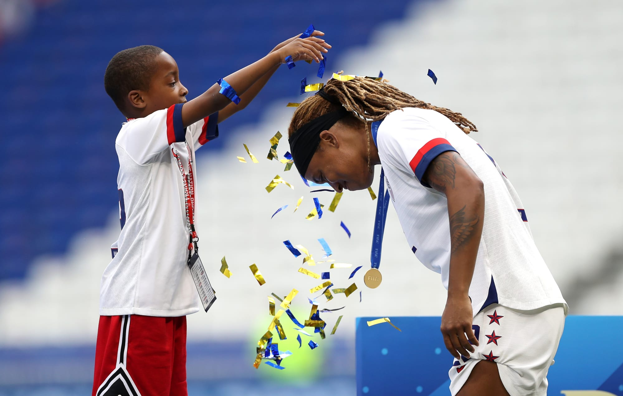 USWNT's Crystal Dunn and Jessica McDonald talk being black women in America