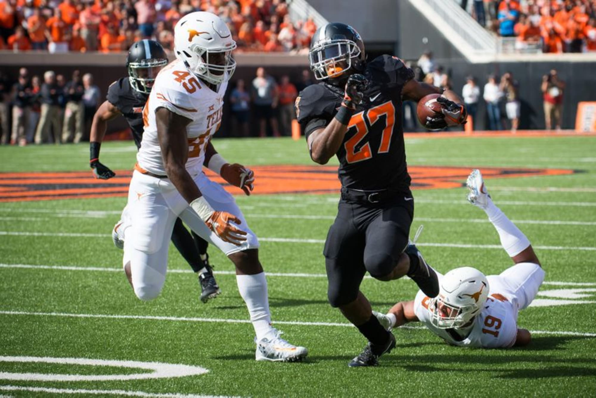 Oklahoma State Football: Justice Hill receives freshman ...