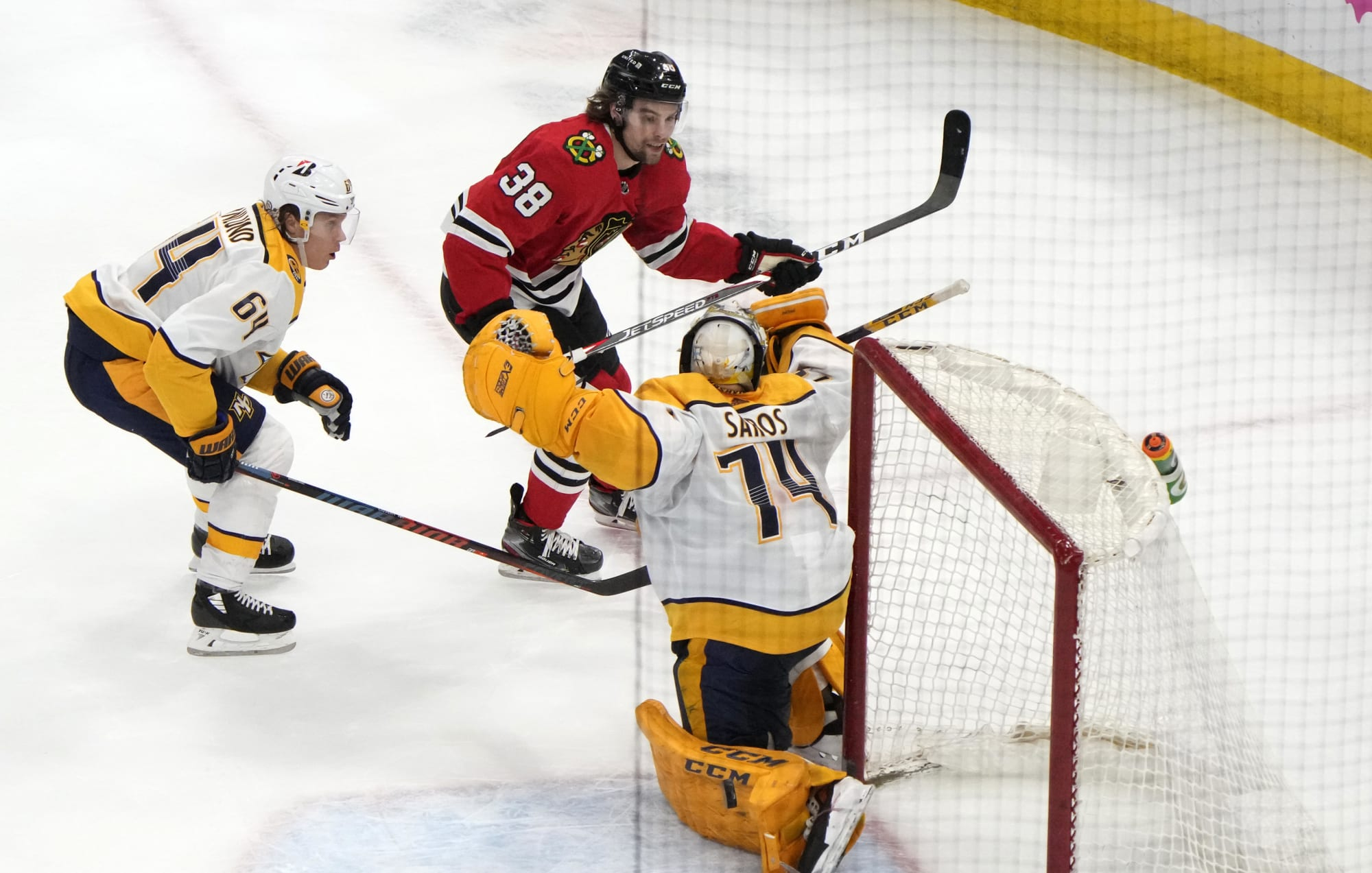 Nashville Predators Stunned in Crushing Overtime Loss to Chicago