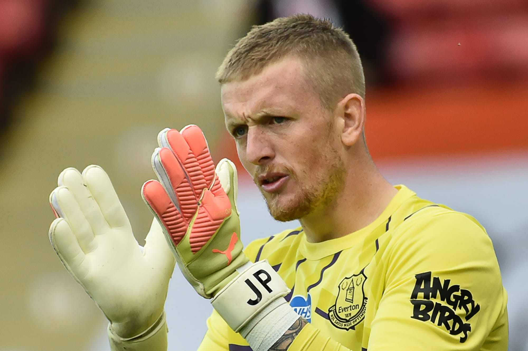 Jordan Pickford's days as Everton No.1 could be numbered