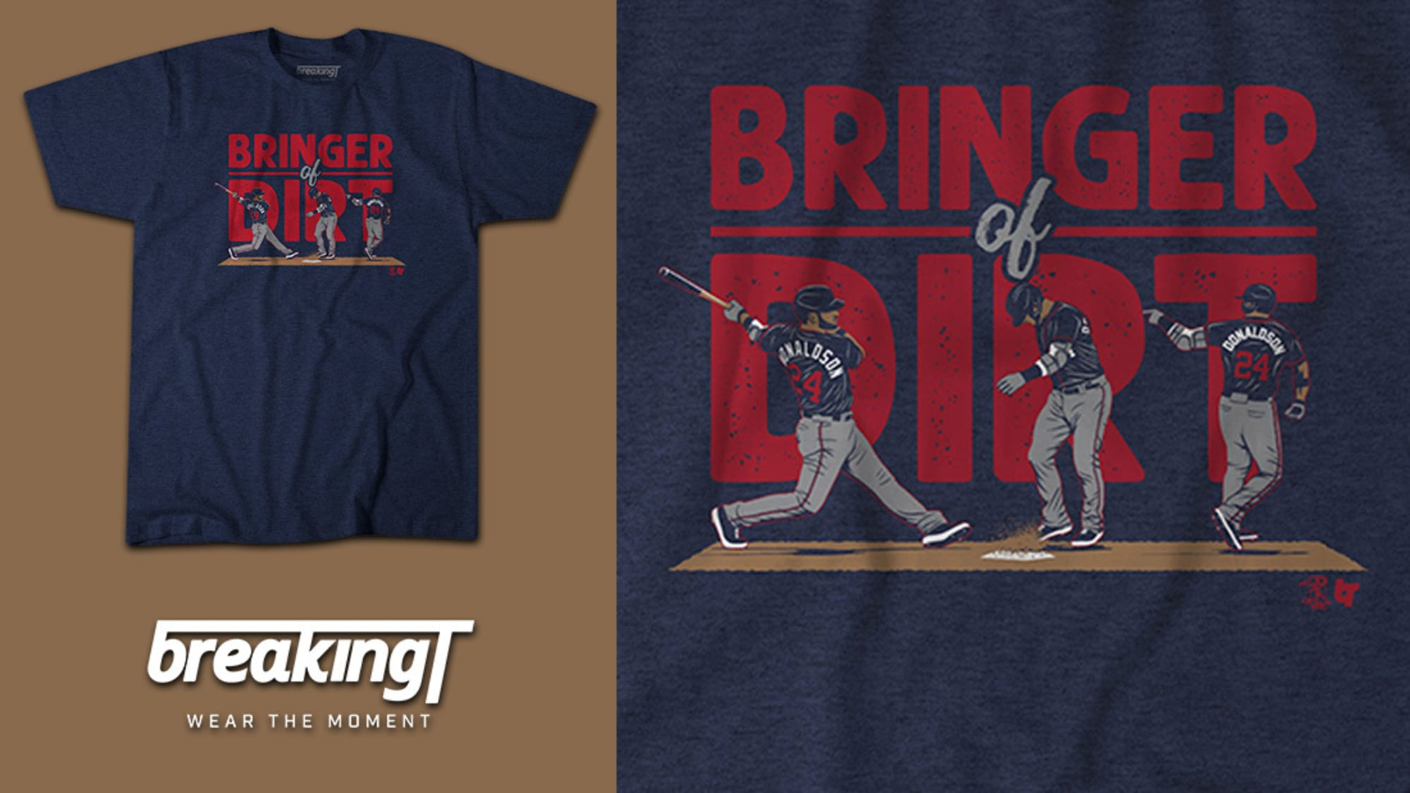 Minnesota Twins fans are going to love this 'Bringer Of Dirt' t-shirt