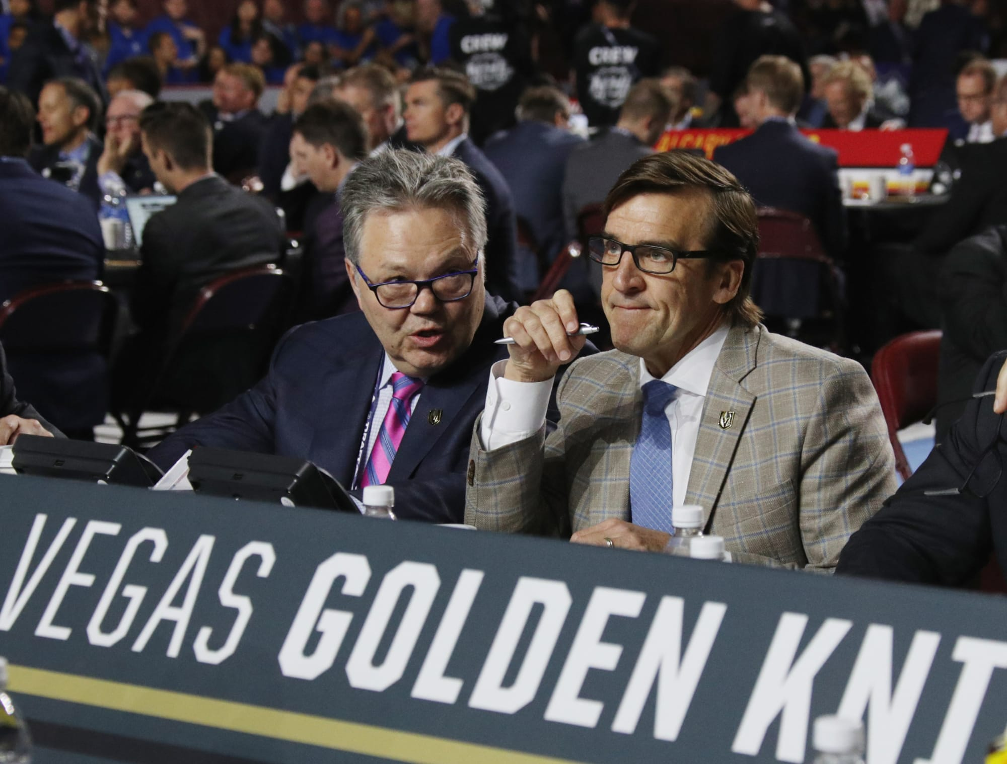 Vegas Golden Knights reveal new AHL name and logo