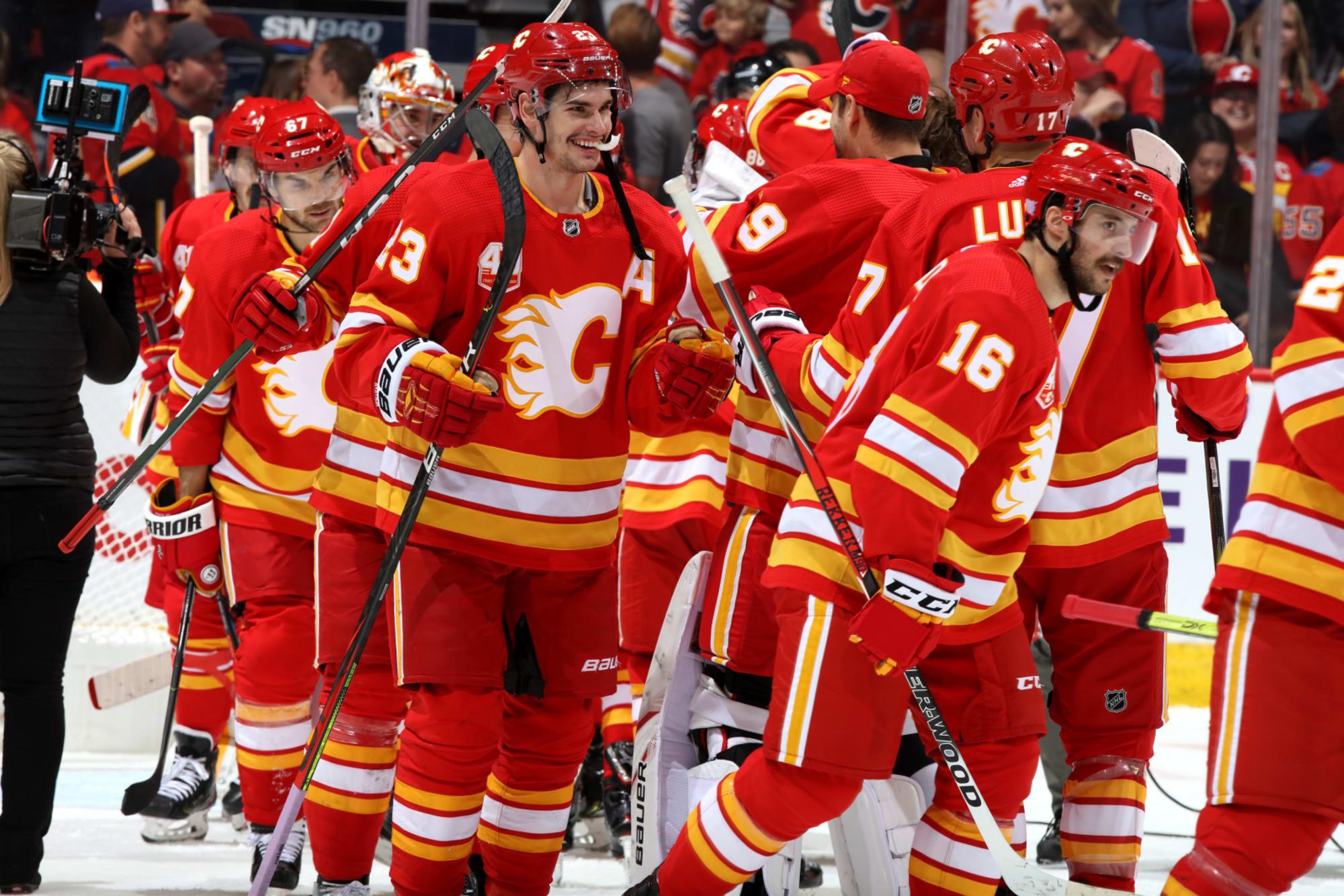 Calgary Flames Bring Back Retro Jerseys Full Time