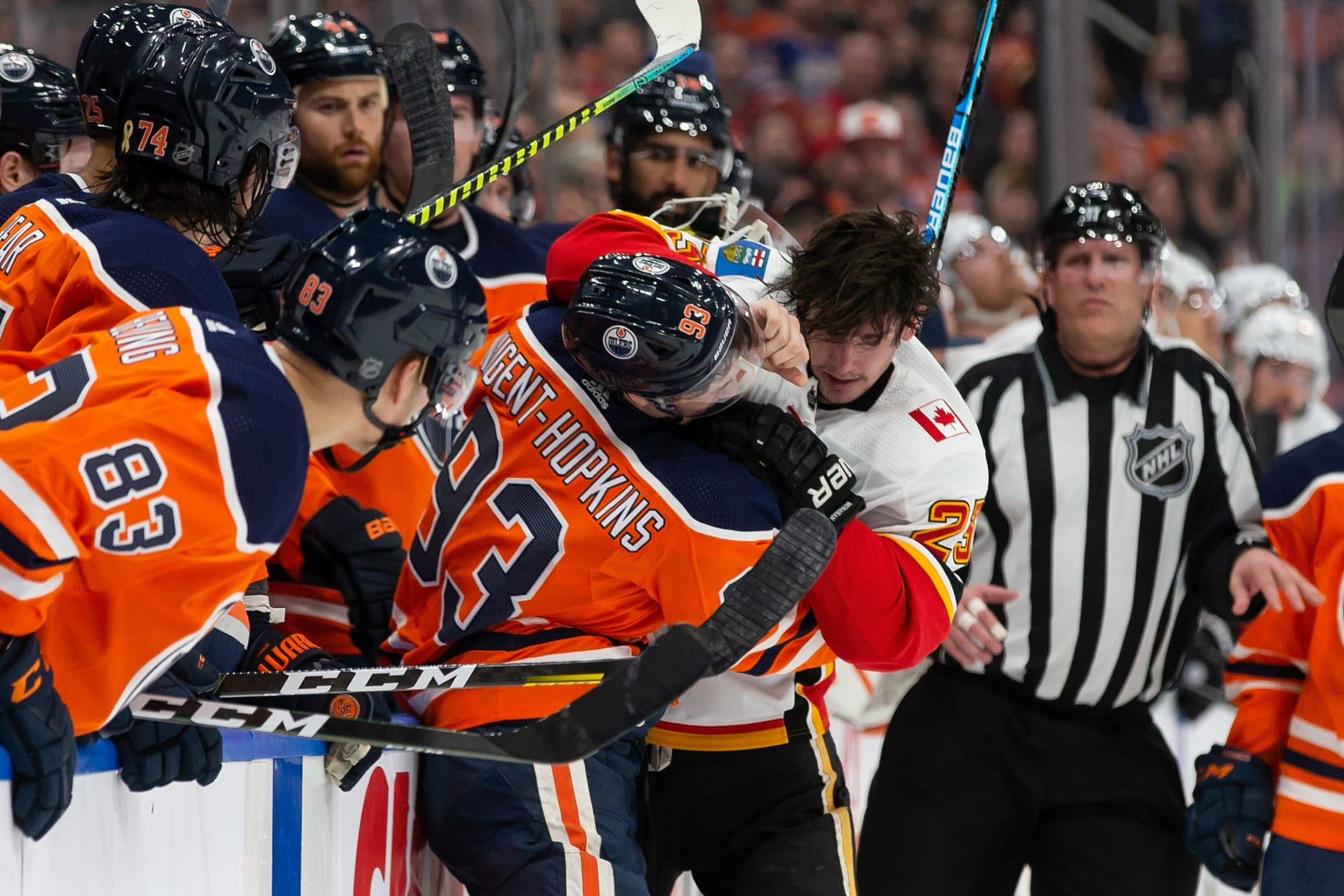 Edmonton Oilers Vs Calgary Flames Start Time Live Stream Tv Info