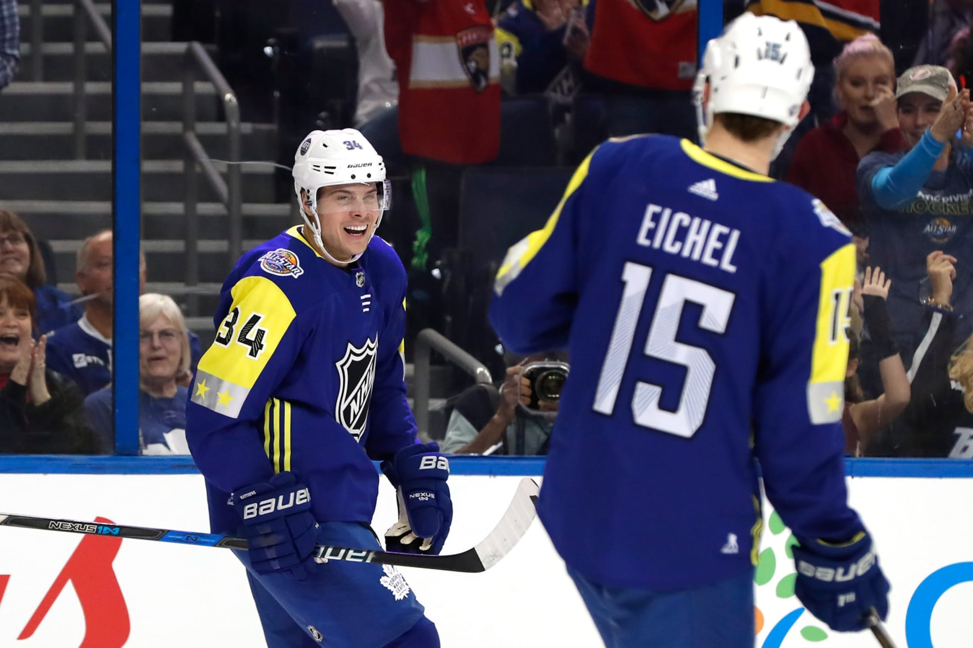 Creating the optimal Team USA with current NHL players