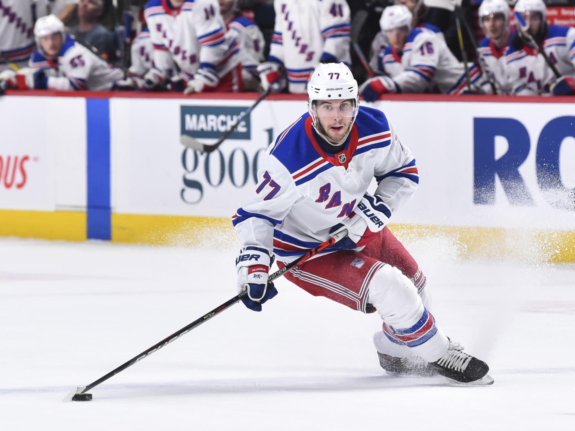New York Rangers Trading Tony Deangelo Would Make Sense
