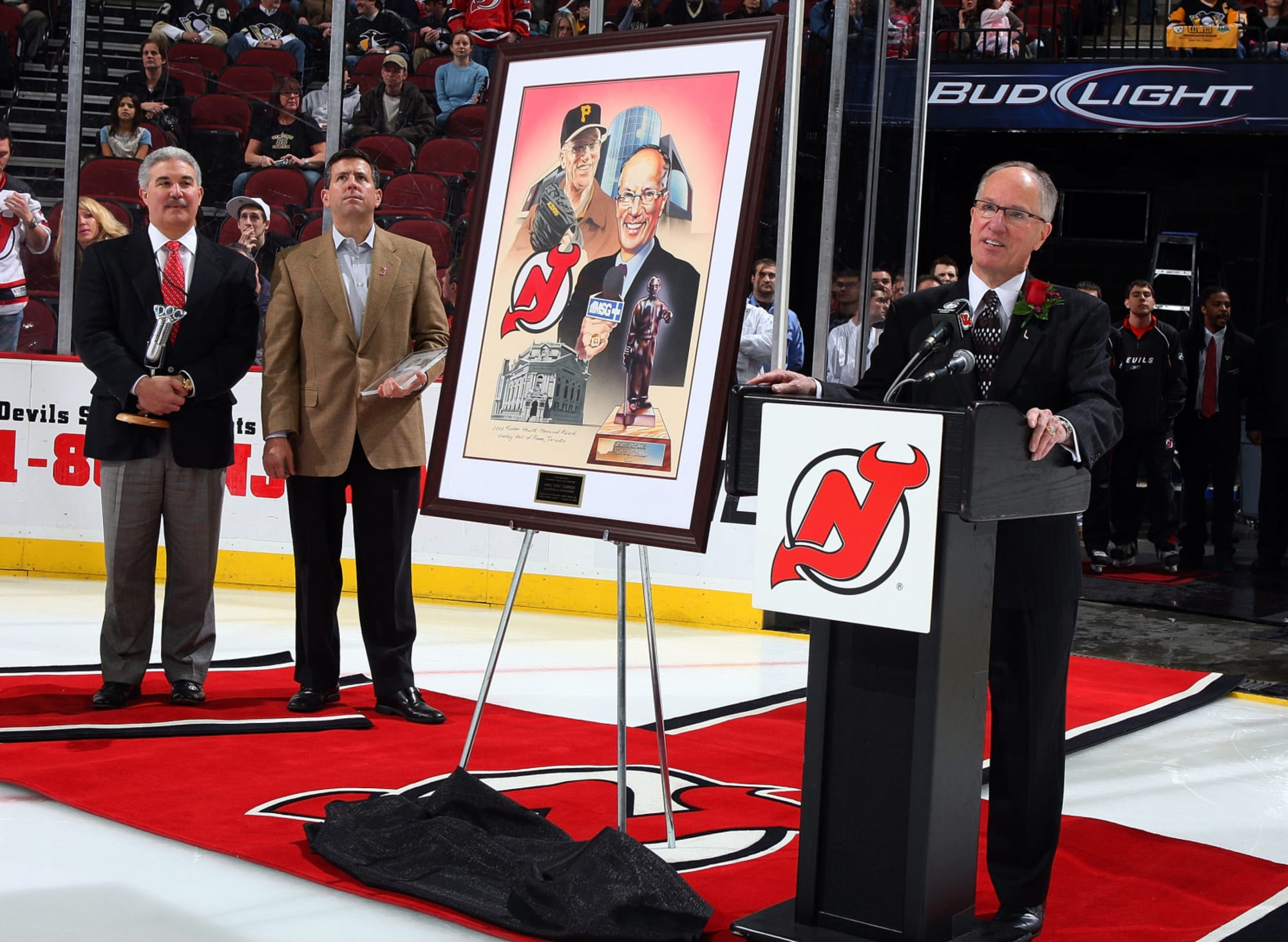 """Mike """"Doc"""" Emrick Means So Much To New Jersey Devils History"""