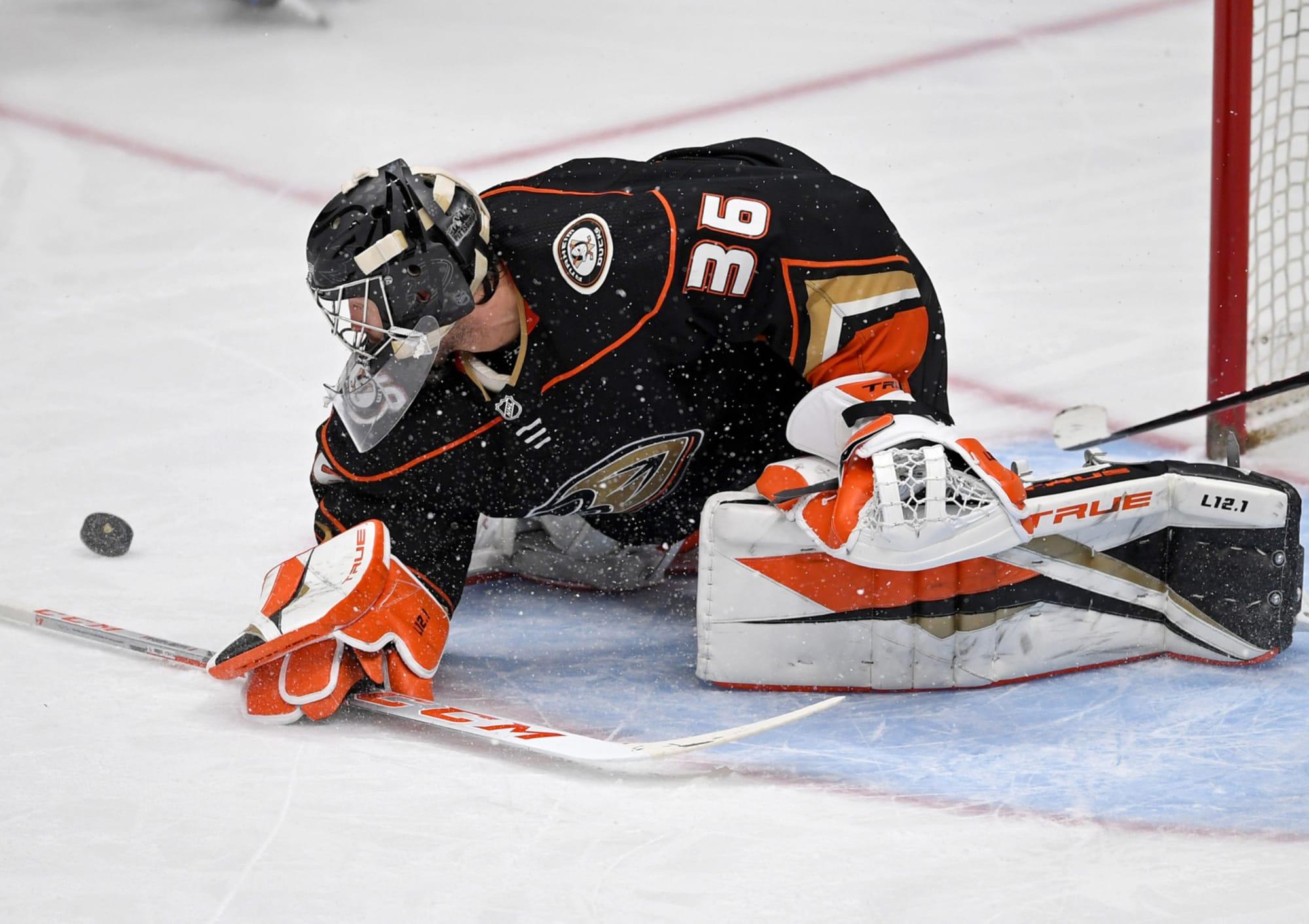 Anaheim Ducks: End of Season Grades for 2020-21 Goaltenders