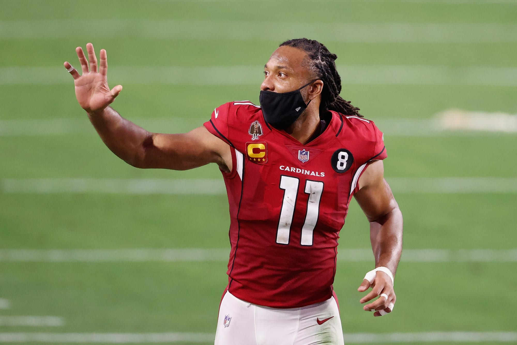 The beans might have spilled about Larry Fitzgerald retiring