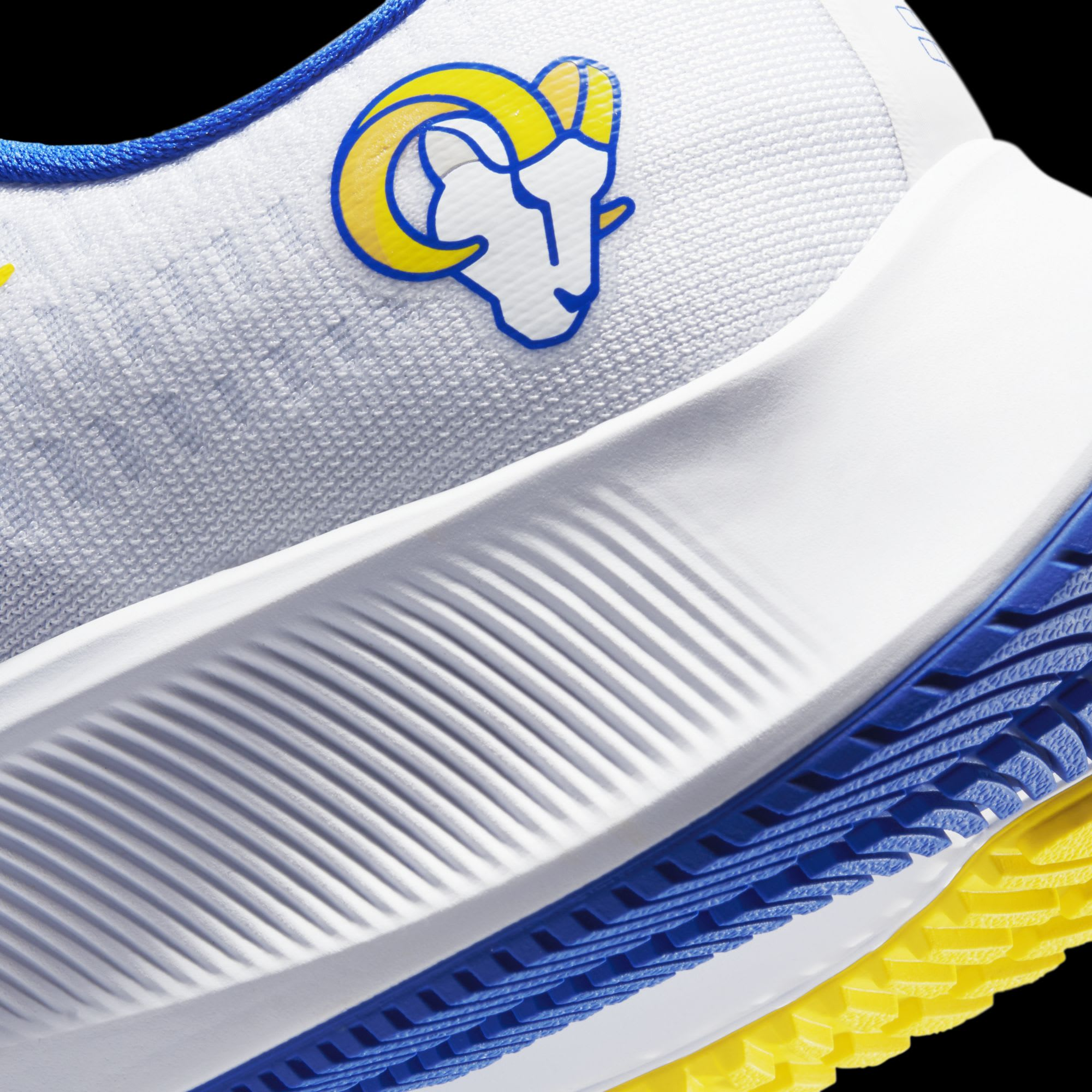 These Los Angeles Rams Nike shoes are