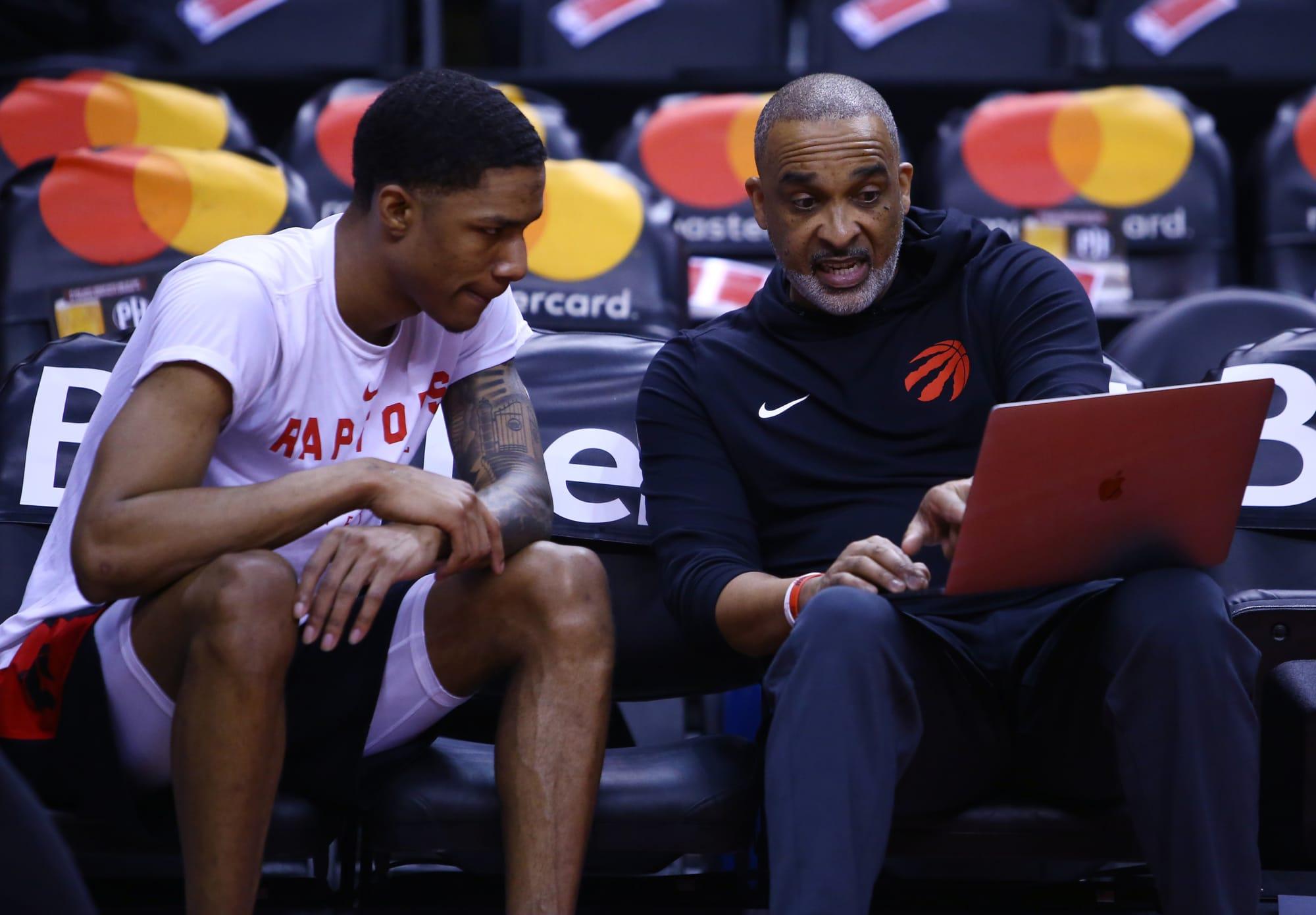 Former Toronto Raptors coach Phil Handy speaks on time with Nick Nurse