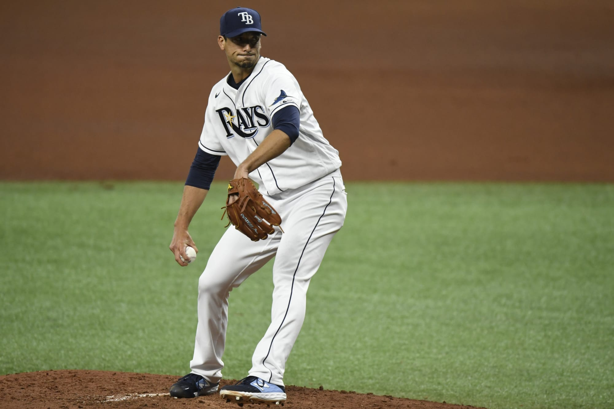 tampa bay rays charlie morton pitches well in loss to braves tampa bay rays charlie morton pitches