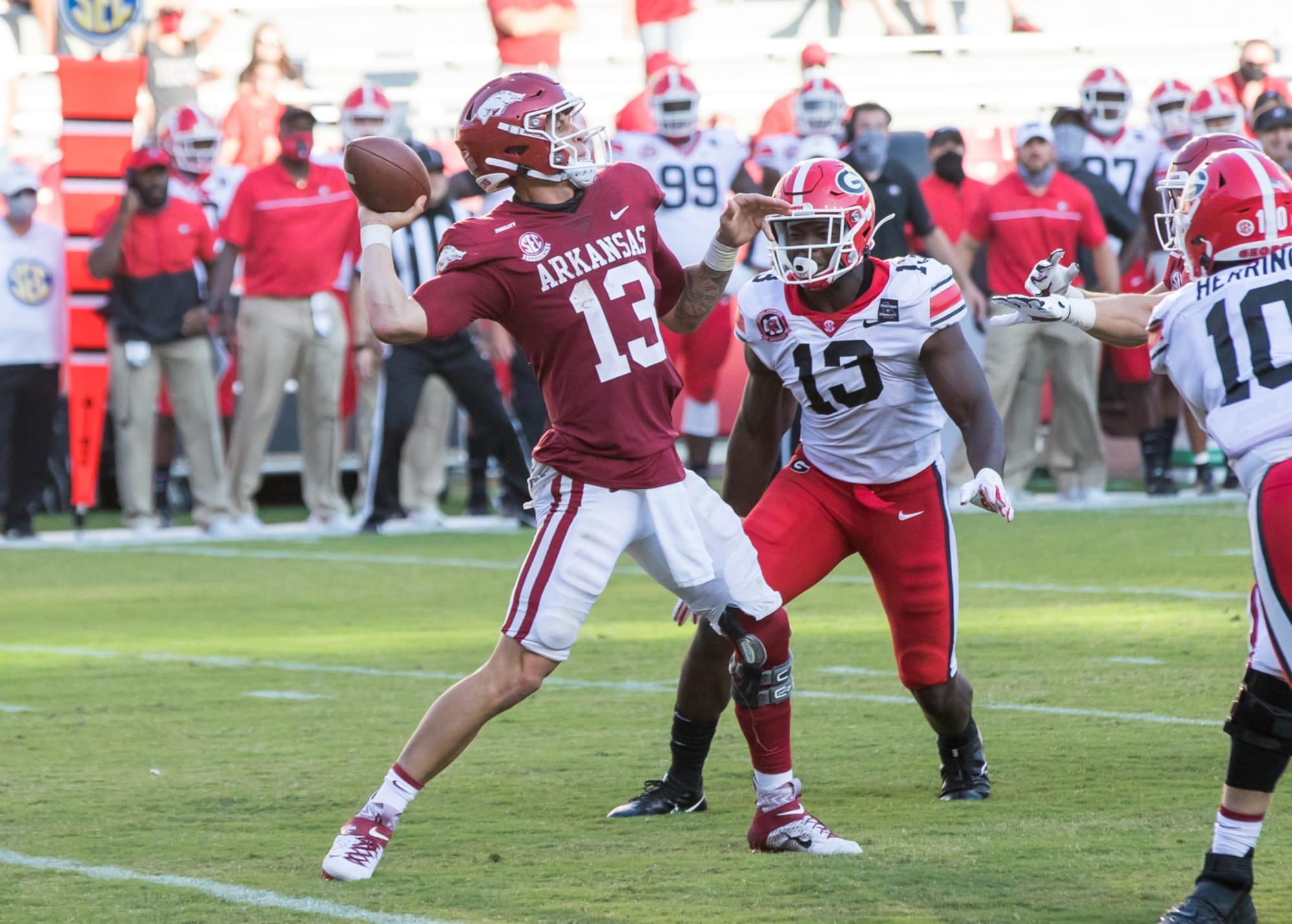Arkansas Razorbacks Football Expectations For Mississippi State