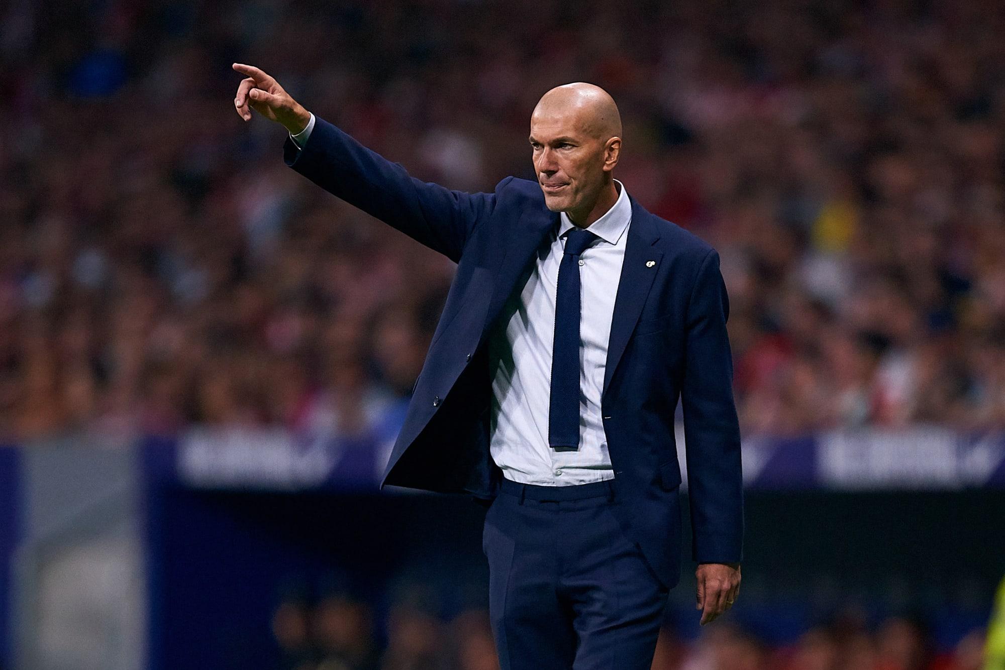 Manchester United make surprise Zinedine Zidane decision