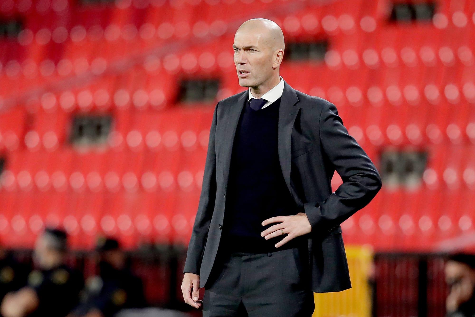 Zinedine Zidane situation amid Manchester United links
