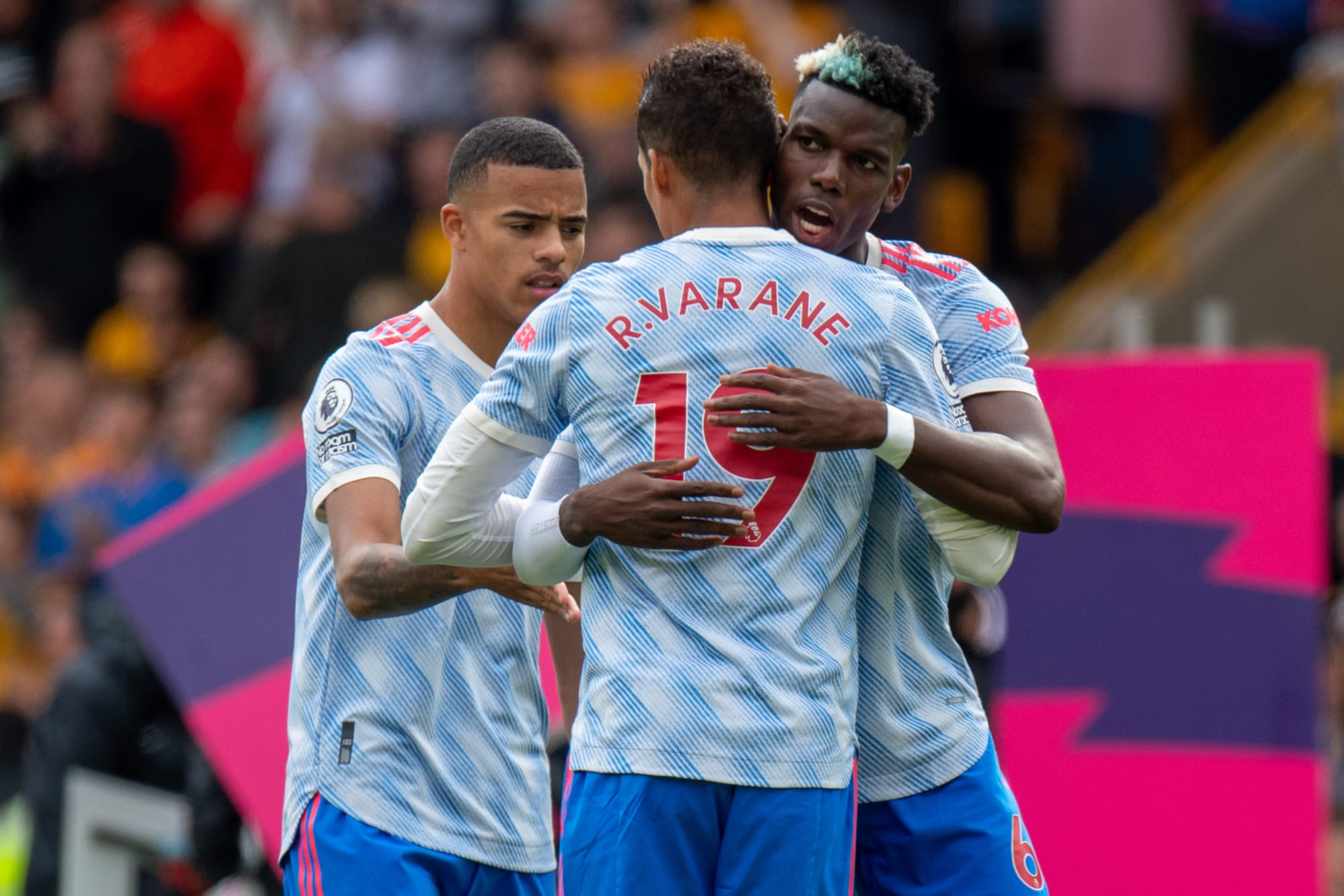 Varane sends message to Pogba about Manchester United future