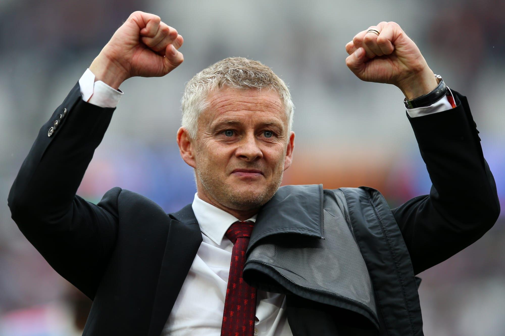 Ole Gunnar Solskjaer responds to Manchester United sack claims