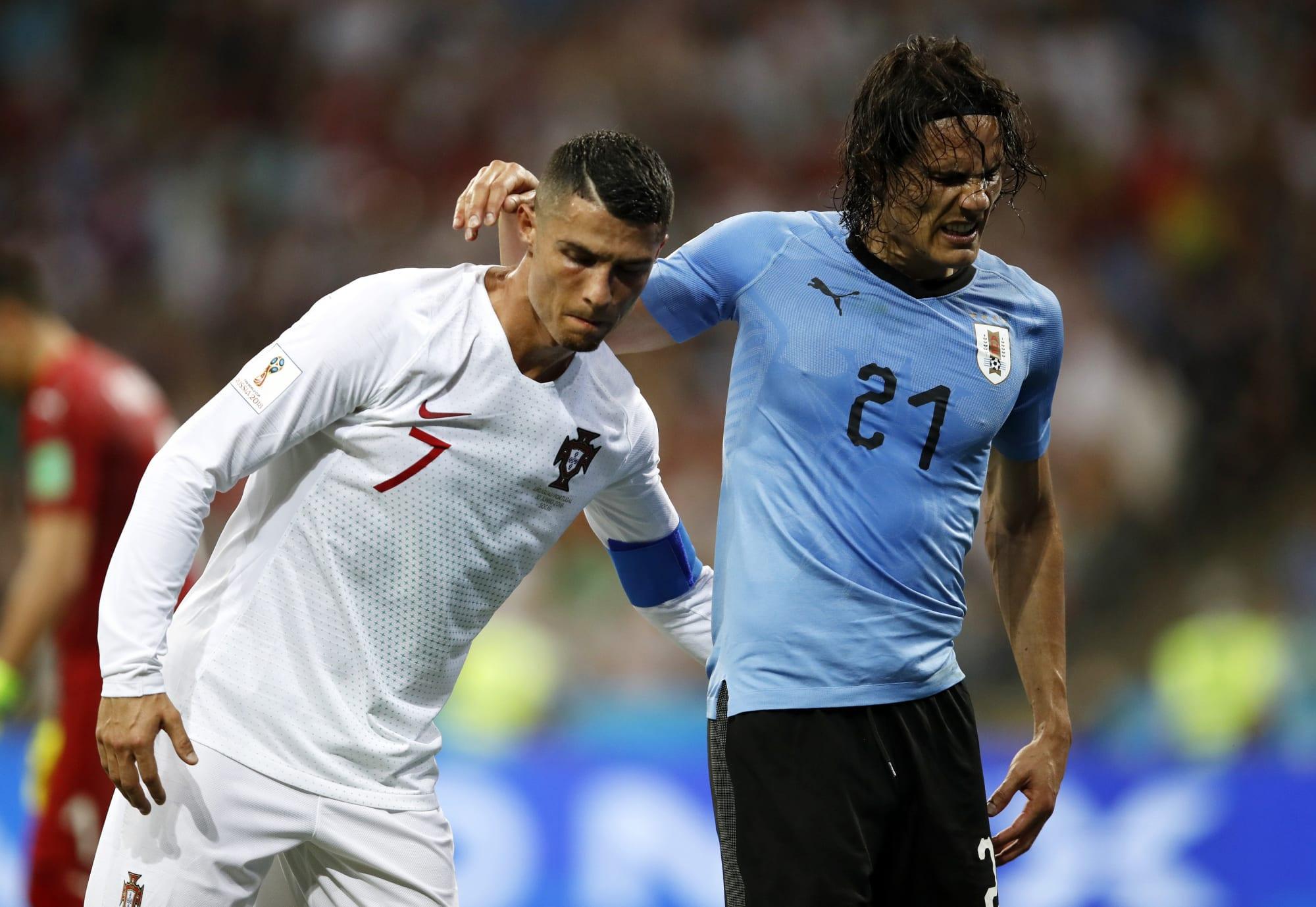 Cavani's stance on Ronaldo's presence at Manchester United revealed