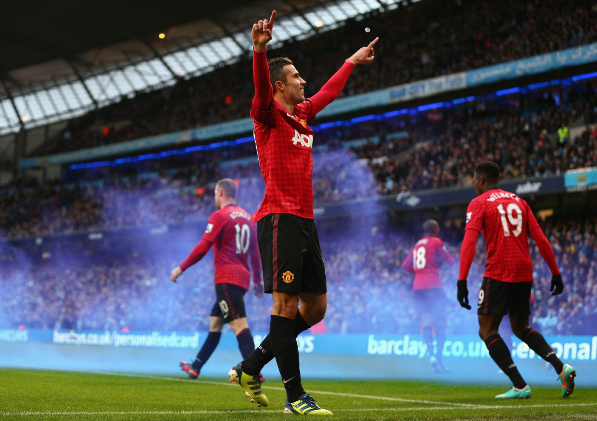 Derby Day Memories: Manchester City v Manchester United 9th December 2012