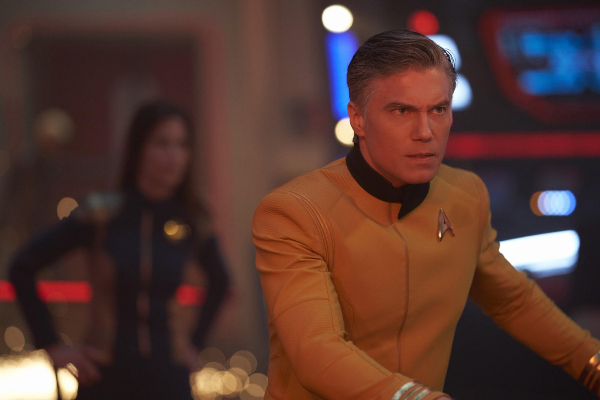 Anson Mount's tweet about old school Star Trek fans was misinterpreted
