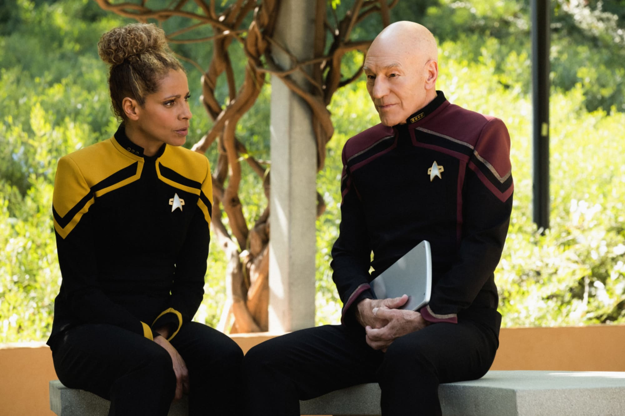 Star Trek: Picard on screen romance started at a ComicCon