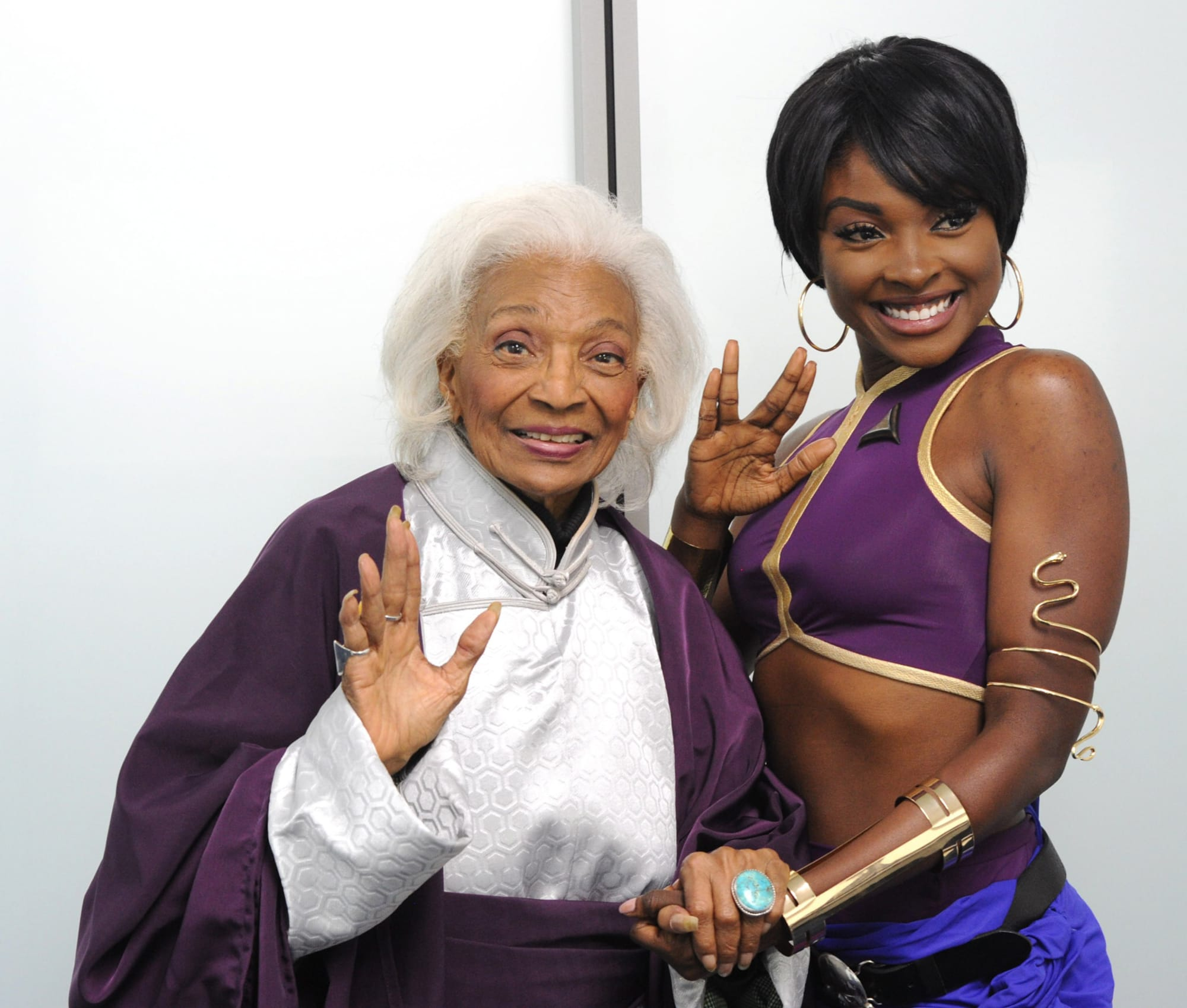 Nichelle Nichols helped create her character's name for Star Trek: TOS