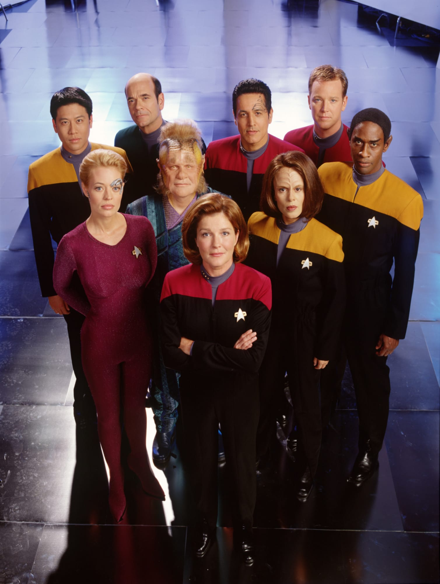 Writers had a dark twist planned for Voyager's homecoming