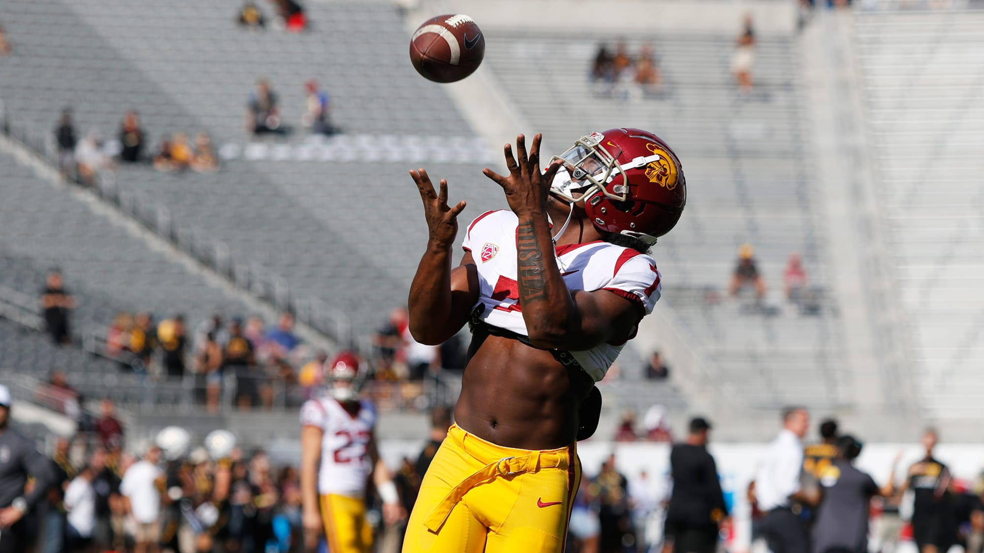 USC football doesn't have enough receivers, which might be a good thing