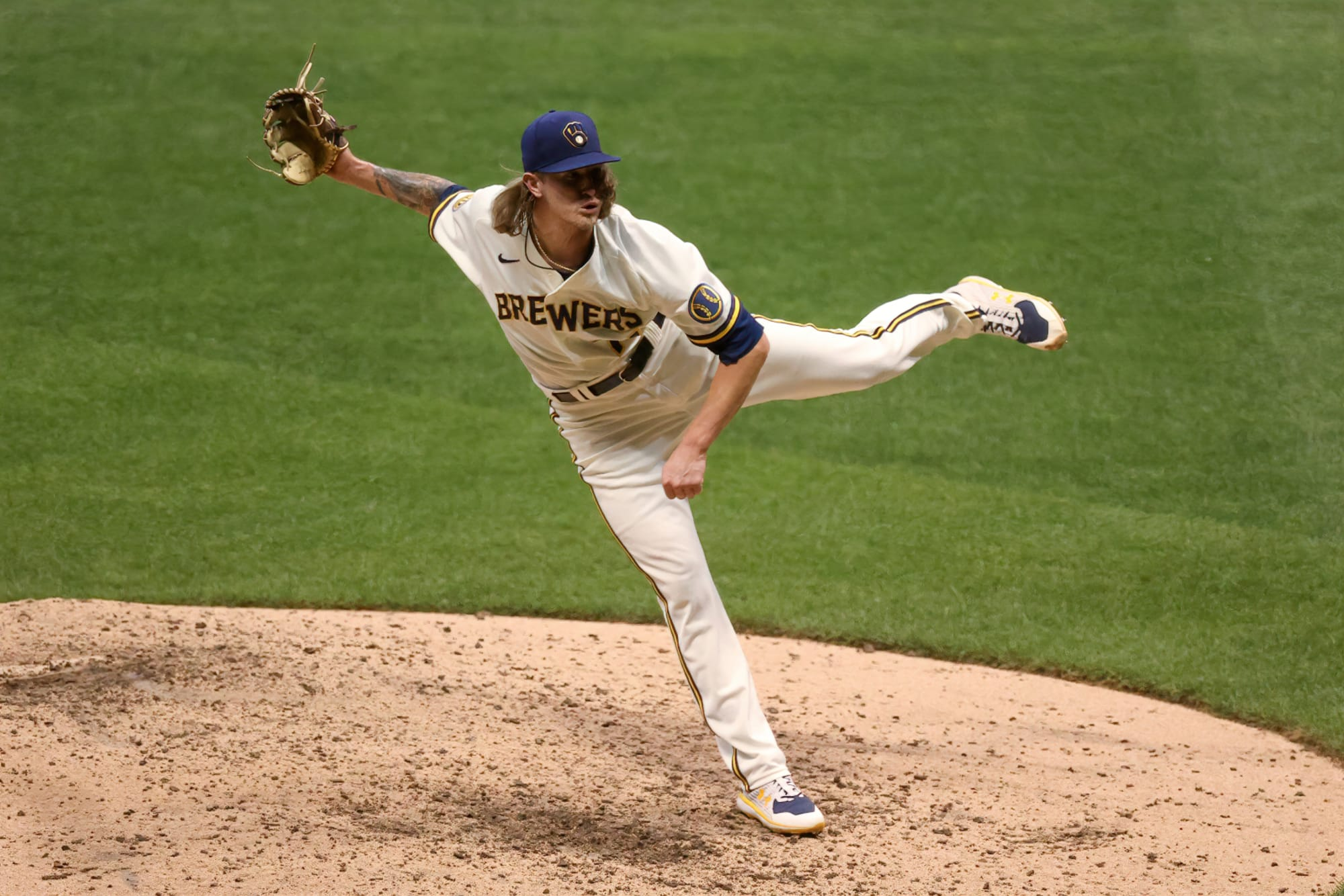 How High Could Josh Hader Climb Up All-Time Brewers Saves List in '21?