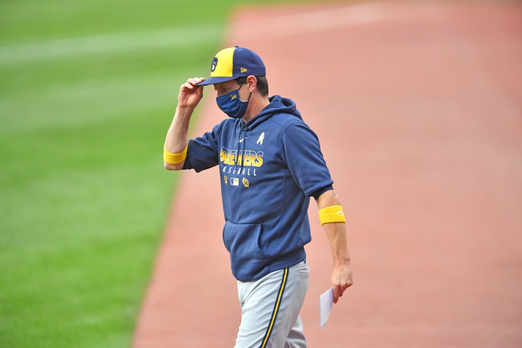 Brewers: Positivity Train Is One Game Back With One Week To Go