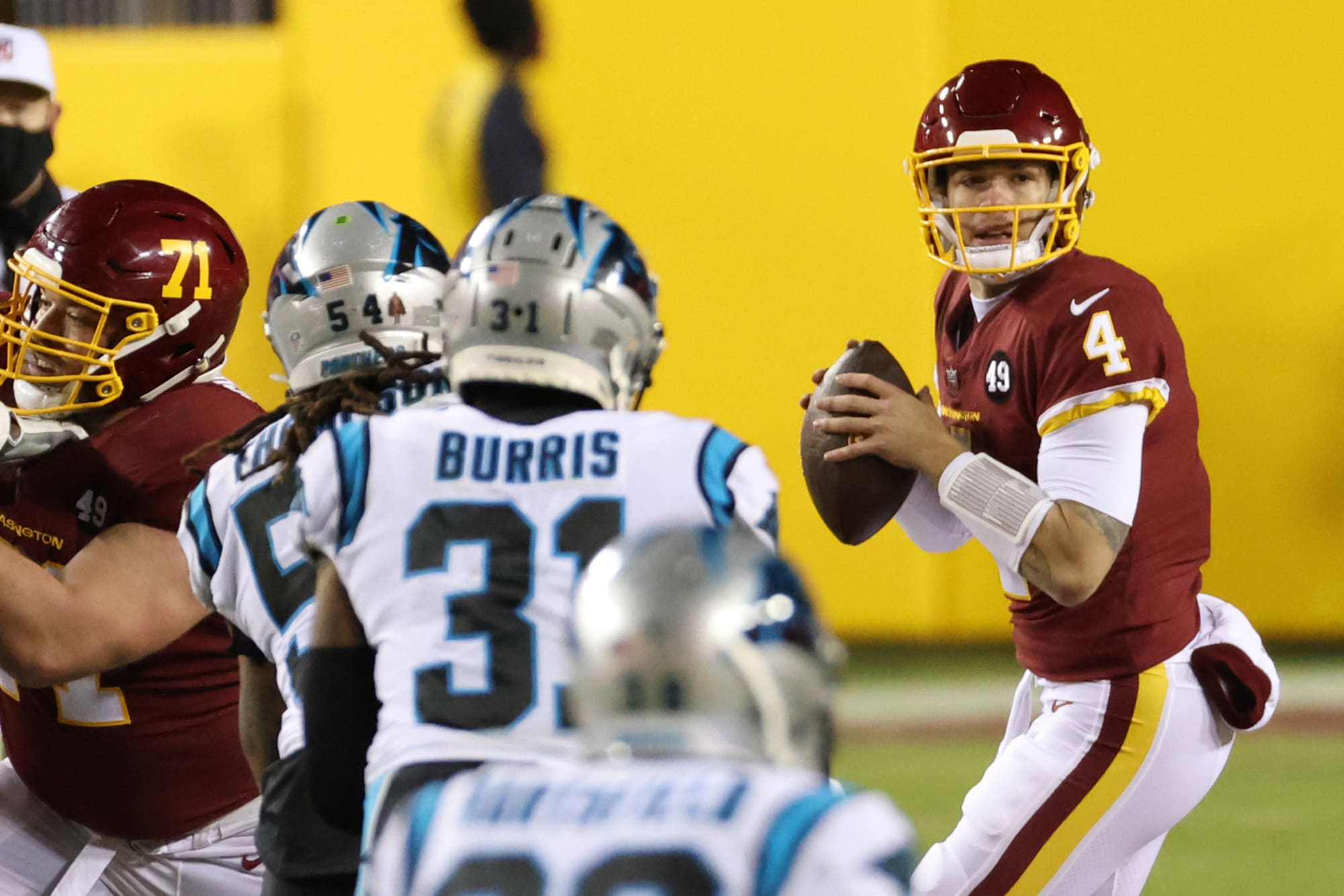 Taylor Heinicke has a chance to be Washington Football Team's unlikely hero