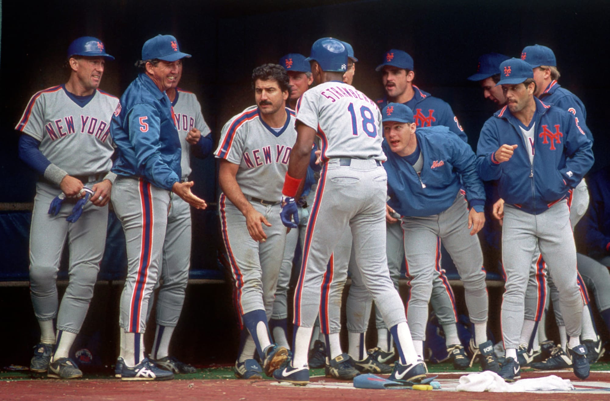 New York Mets exclusive 30-30 club started with a bang in 1987