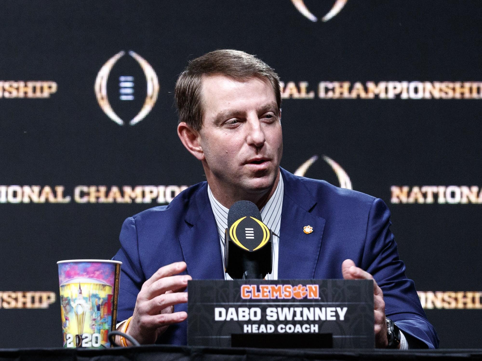 Clemson football: Colin Cowherd says ESPN hated Dabo Swinney's comments in 2017