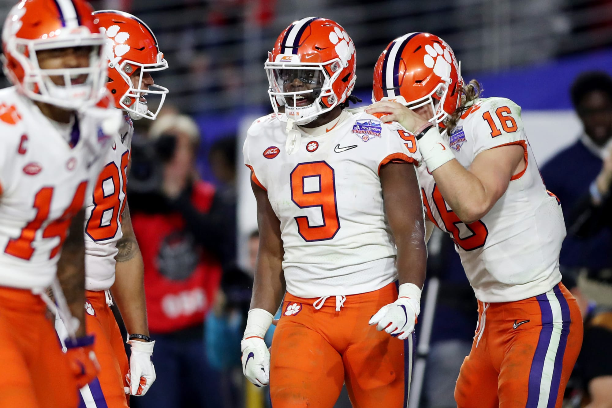 It's Clemson, Ohio State, Alabama then everyone else in 2020