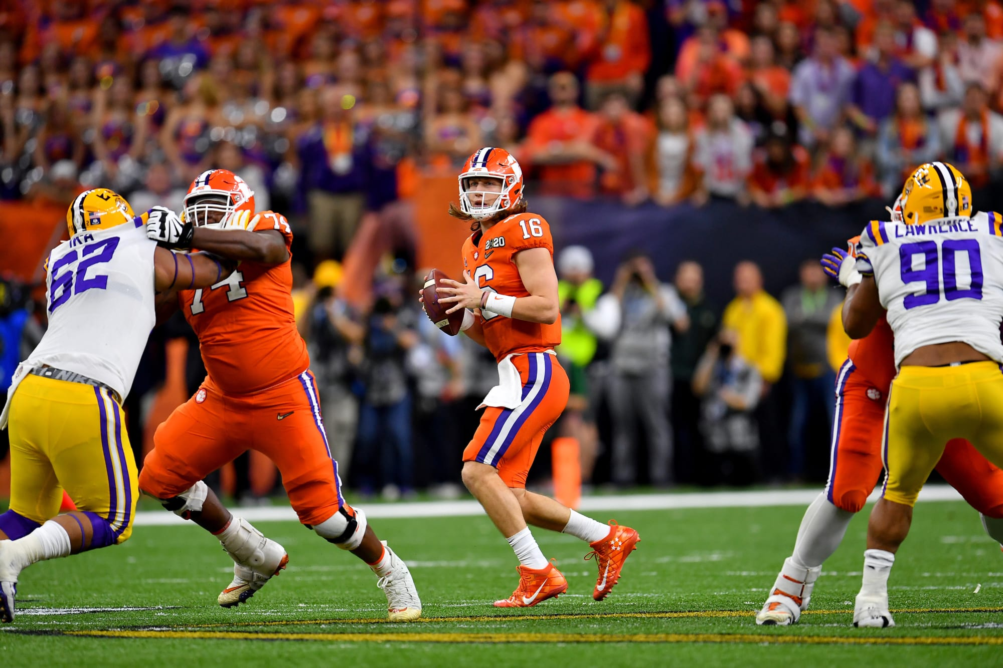 ESPN football analyst uses Trevor Lawrence to gain attention again