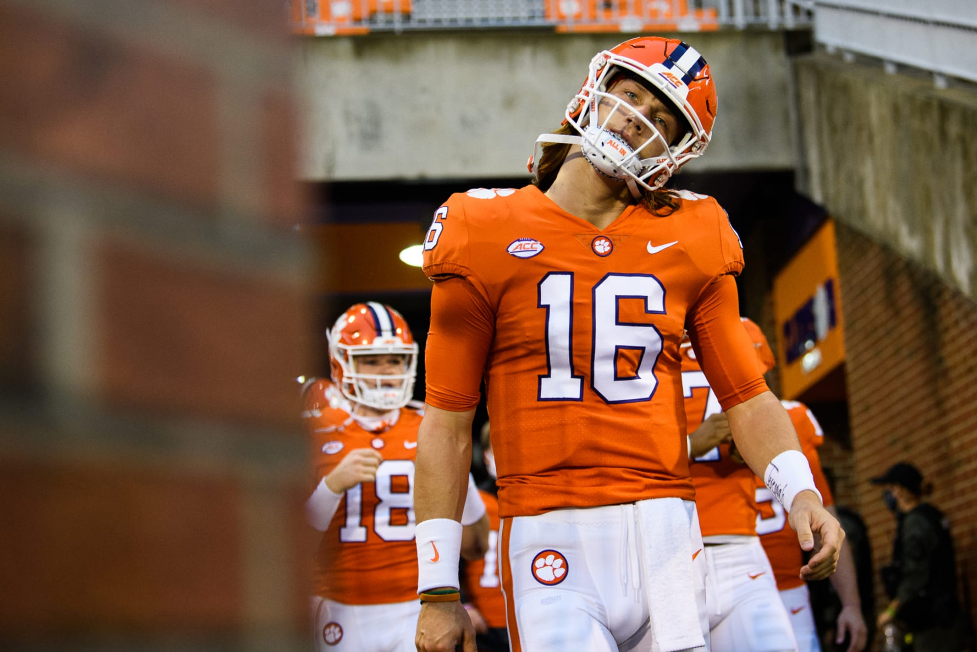 Trevor Lawrence being advised to (possibly) return to Clemson