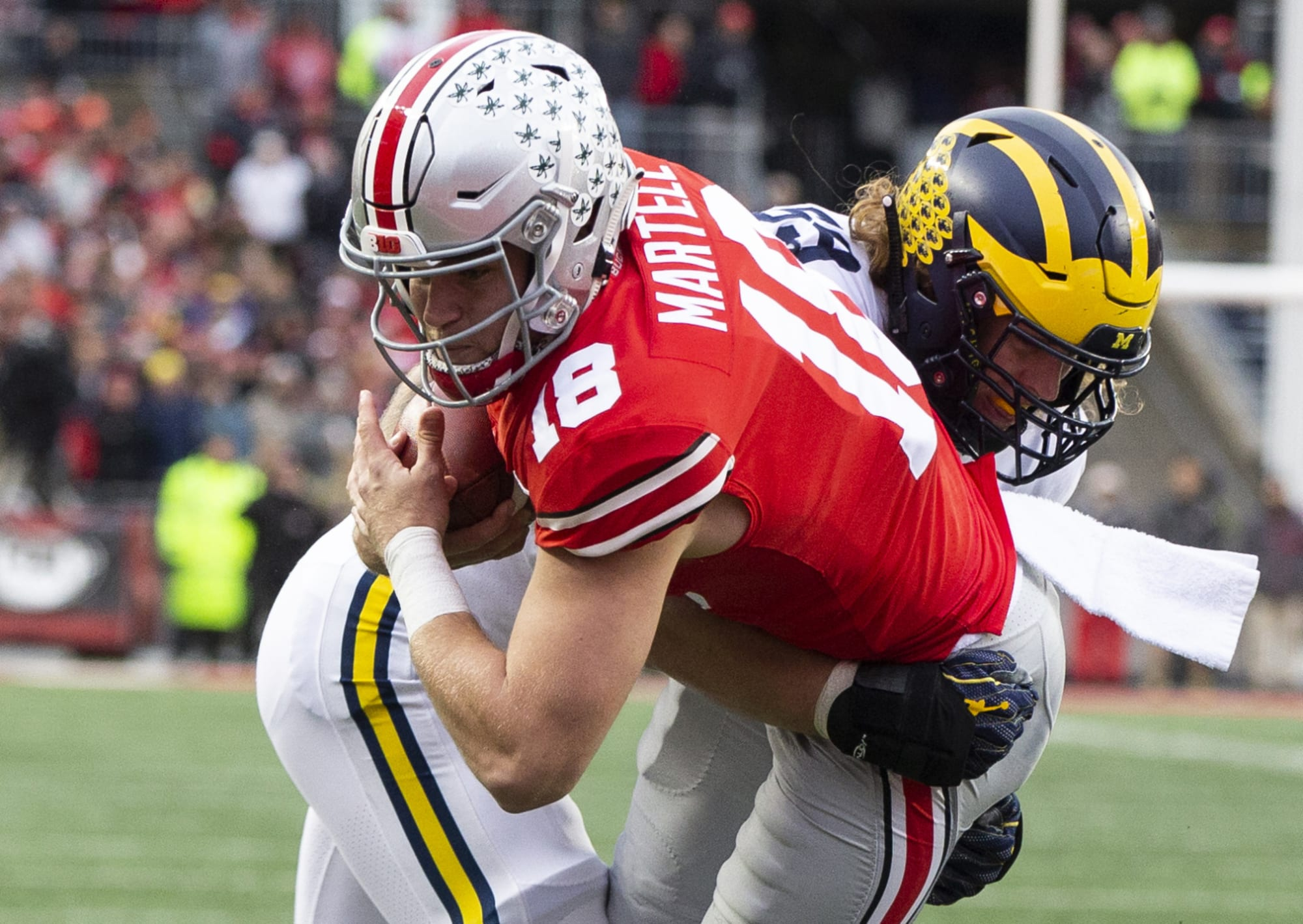 Former Ohio State QB Tate Martell to transfer again