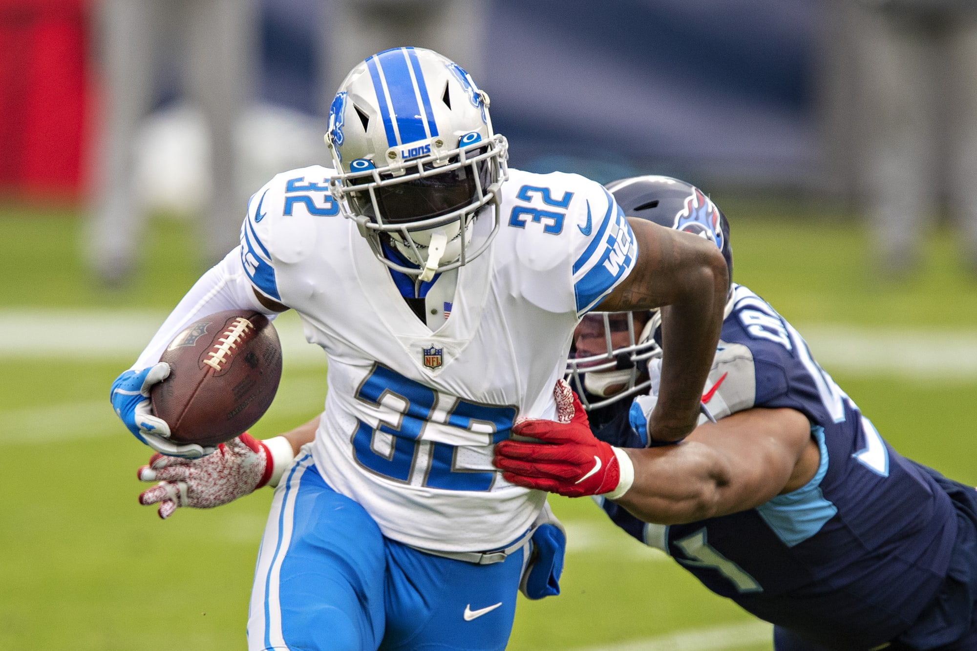 D'Andre Swift predicted to break Lions 1,000-yard drought