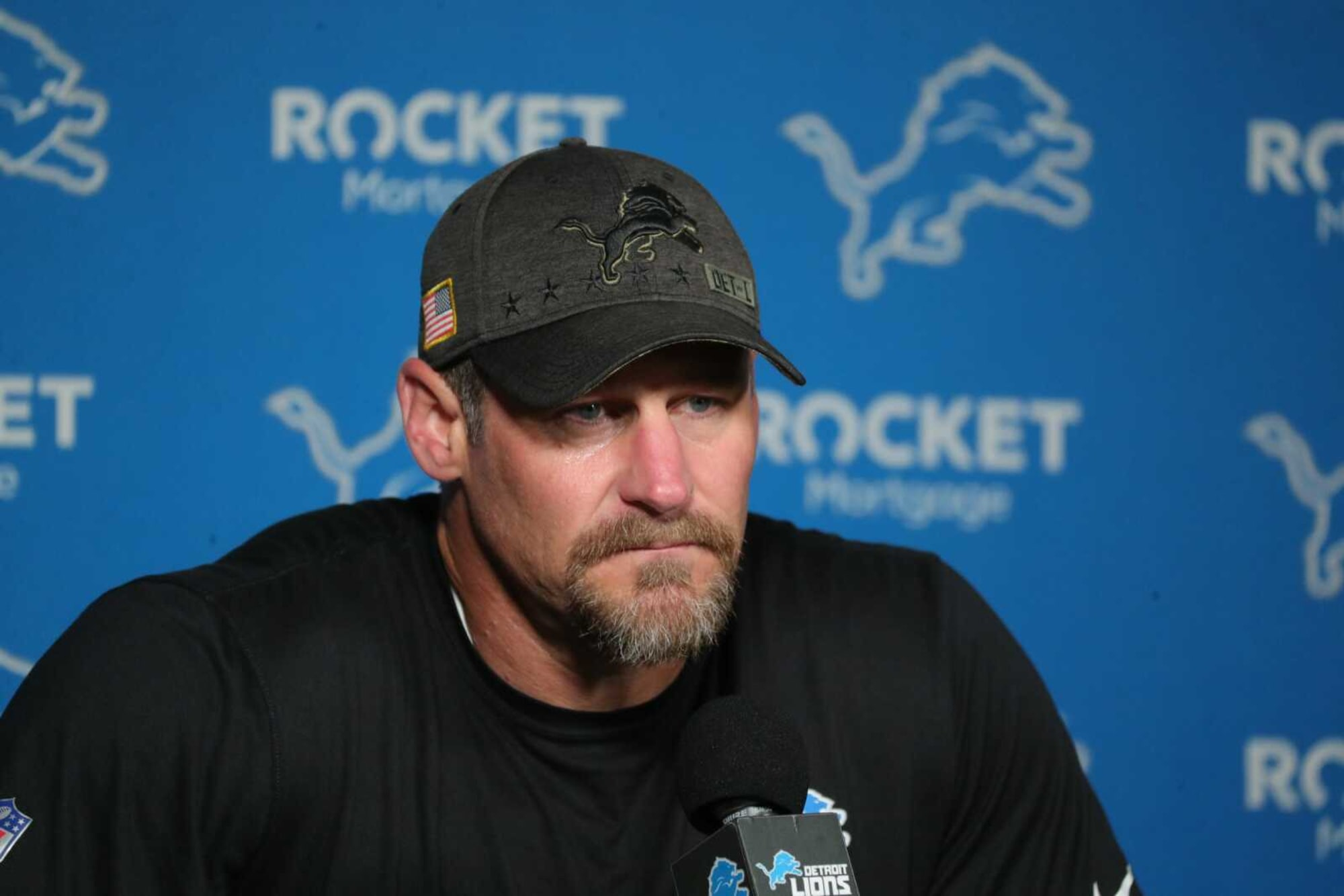 Dan Campbell is all about his Lions players buying in
