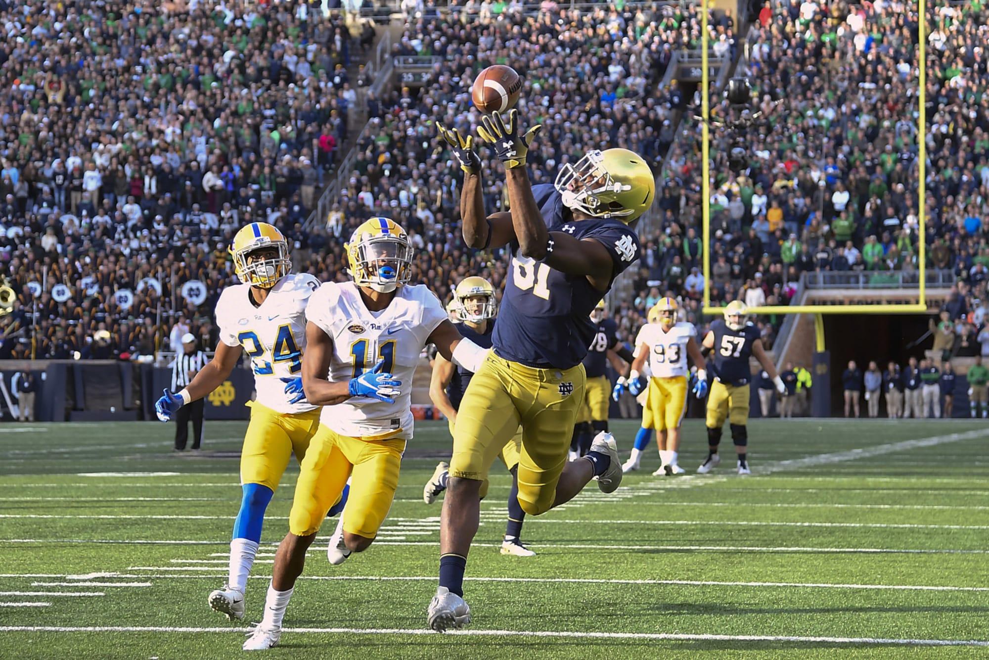 College Fantasy Football Start Em Sit Em For Notre Dame Vs Fsu