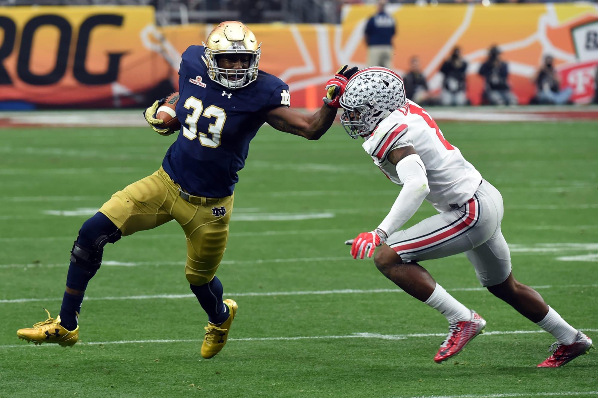 Notre Dame Football Spotlight: Top 5 Rushers In School History