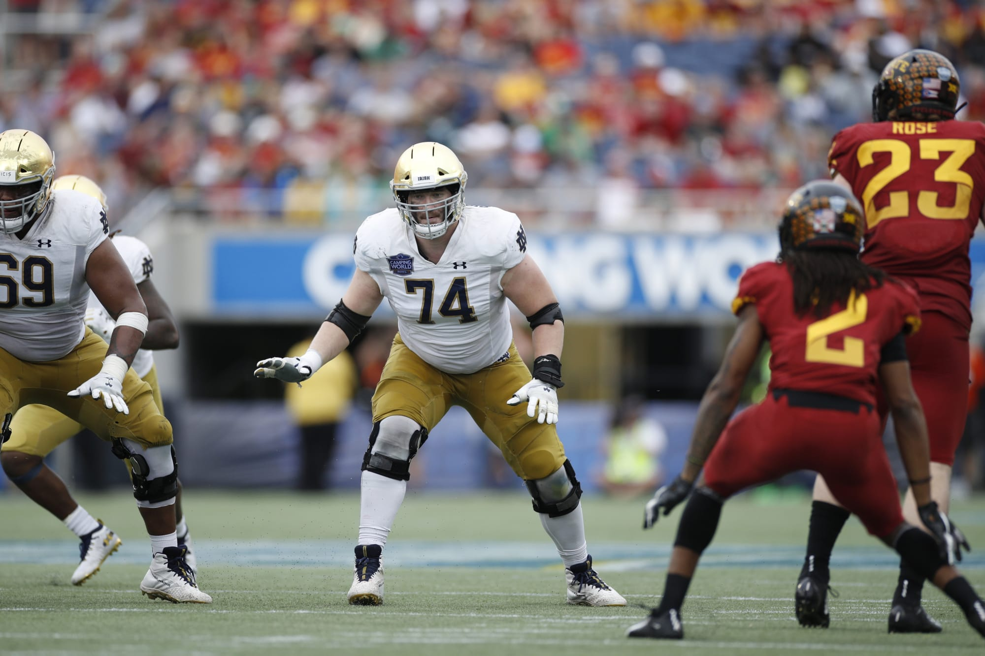 Notre Dame football: Liam Eichenberg's ceiling and floor in the NFL Draft