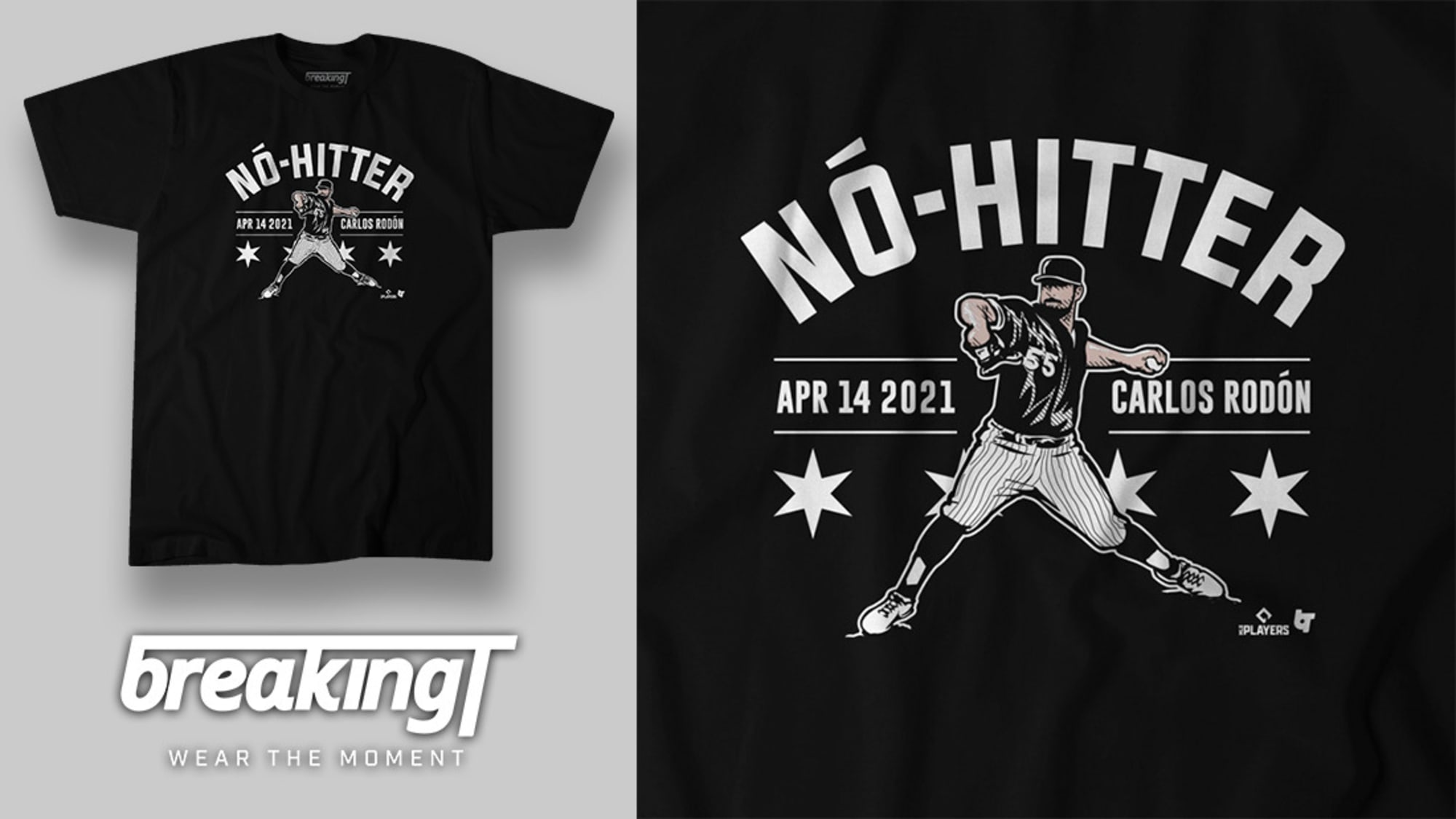 Celebrate Carlos Rodón's no-hitter with a new White Sox shirt