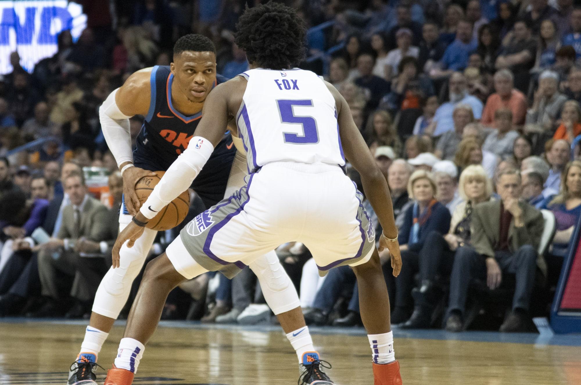 De'Aaron Fox cites Rockets' Russell Westbrook as favorite player