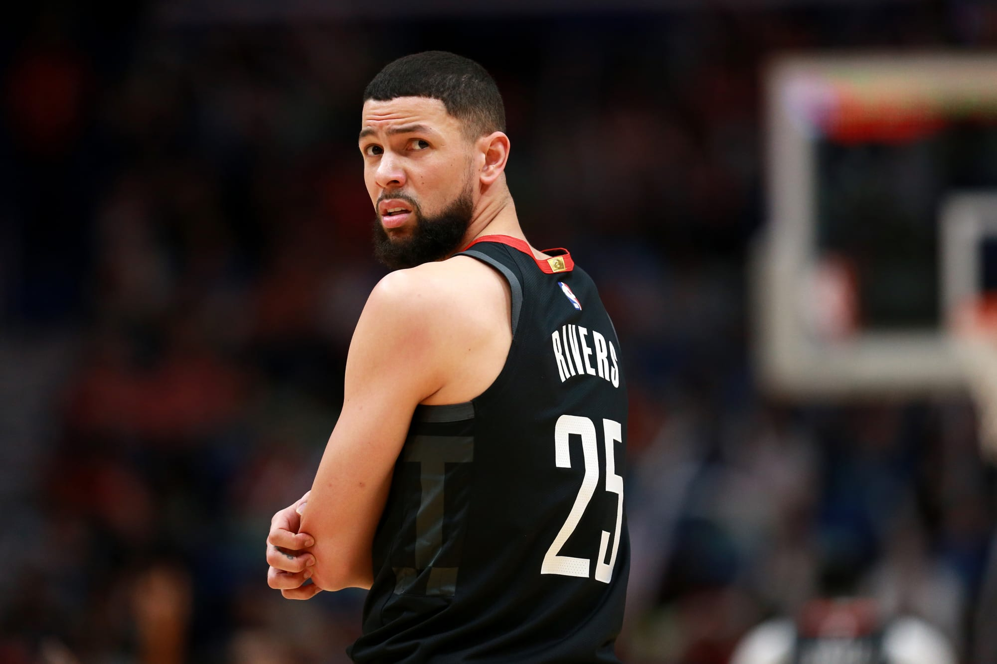 Rockets: Austin Rivers talks potentially facing Nikola Jokic without a center