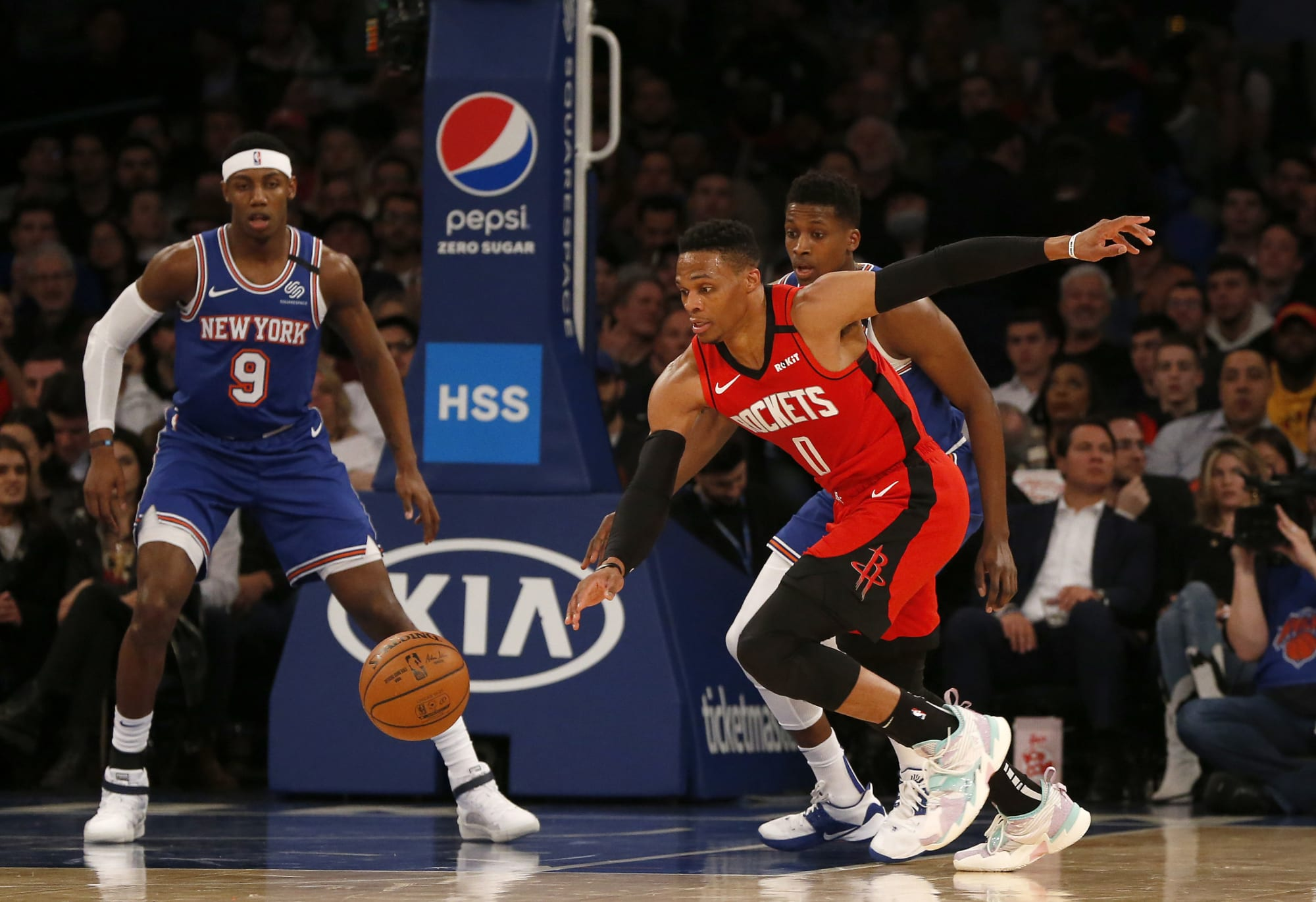 Houston Rockets: 3 deals that would send Russell Westbrook to the Knicks